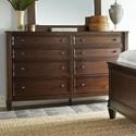 Standard Furniture Mallory Brown Dresser - Item Number: 87059