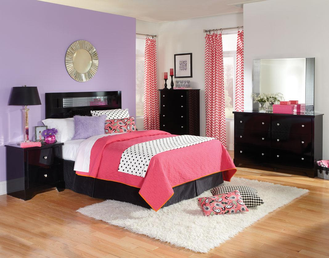 Standard Furniture Marilyn Youth Twin Bedroom Group - Item Number: 673 T Bedroom Group 1