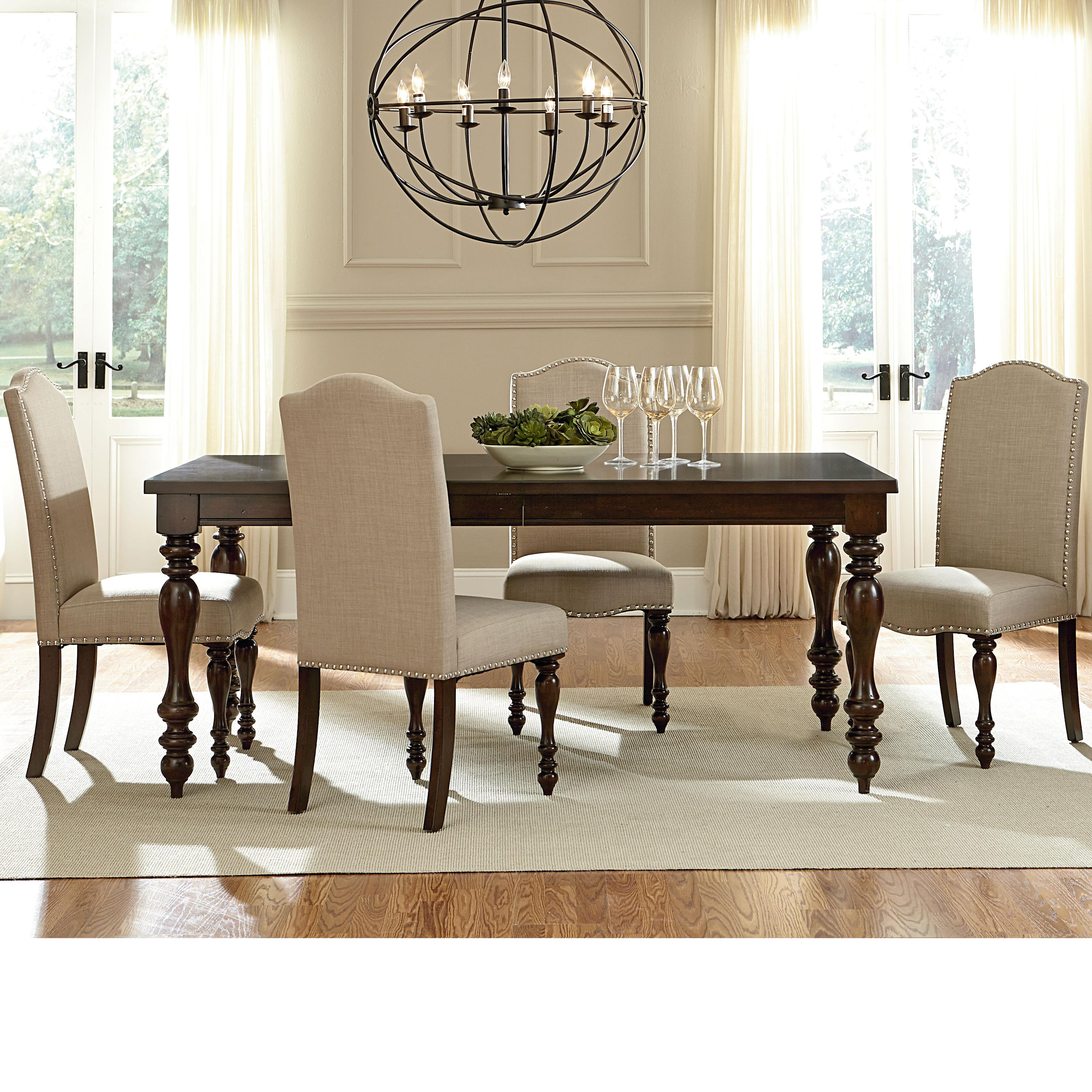 Standard Furniture McGregor 17721 Dining Table With Turned