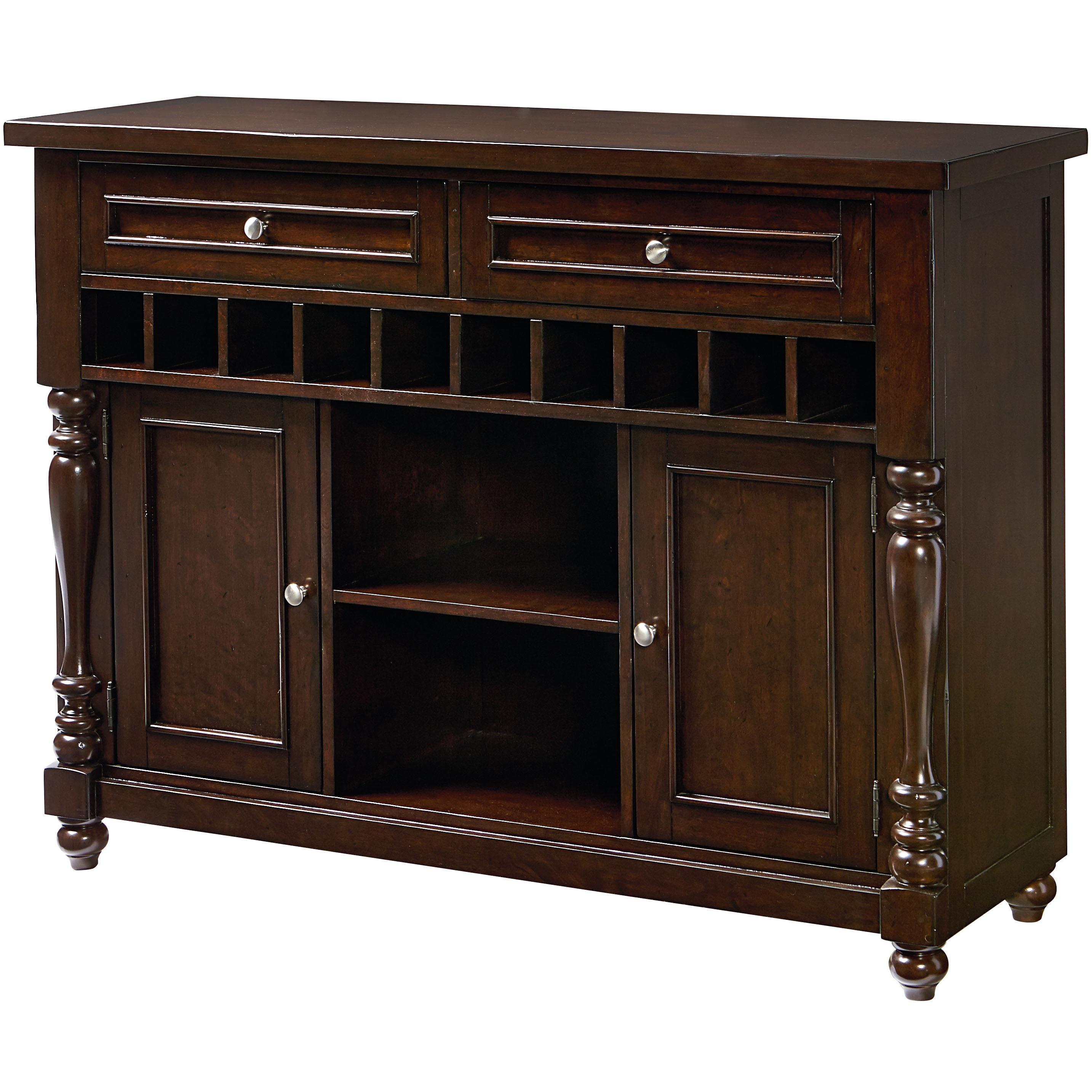 McGregor Buffet With 10 Bottle Wine Rack By Standard Furniture At Dunk Bright