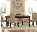 Vendor 855 McGregor Dining Table and Chair Set - Item Number: 17736+4x17727