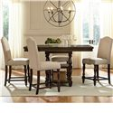 Standard Furniture McGregor Counter Height Table and Chair Set - Item Number: 17736+4x17737
