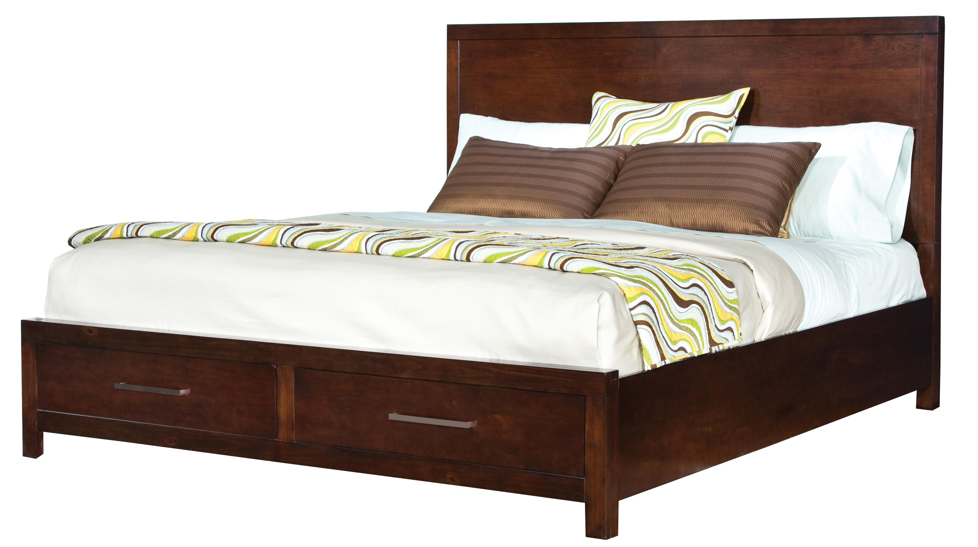 Standard Furniture Metro Queen Platform Bed - Item Number: 87951+52+53