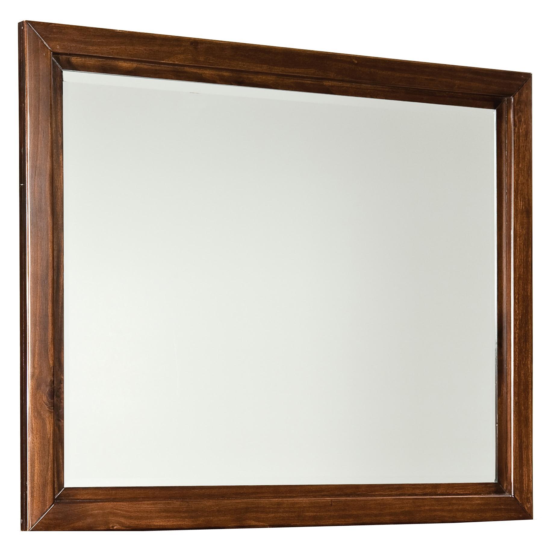 Standard Furniture Metro Landscape Beveled Mirror               - Item Number: 87958