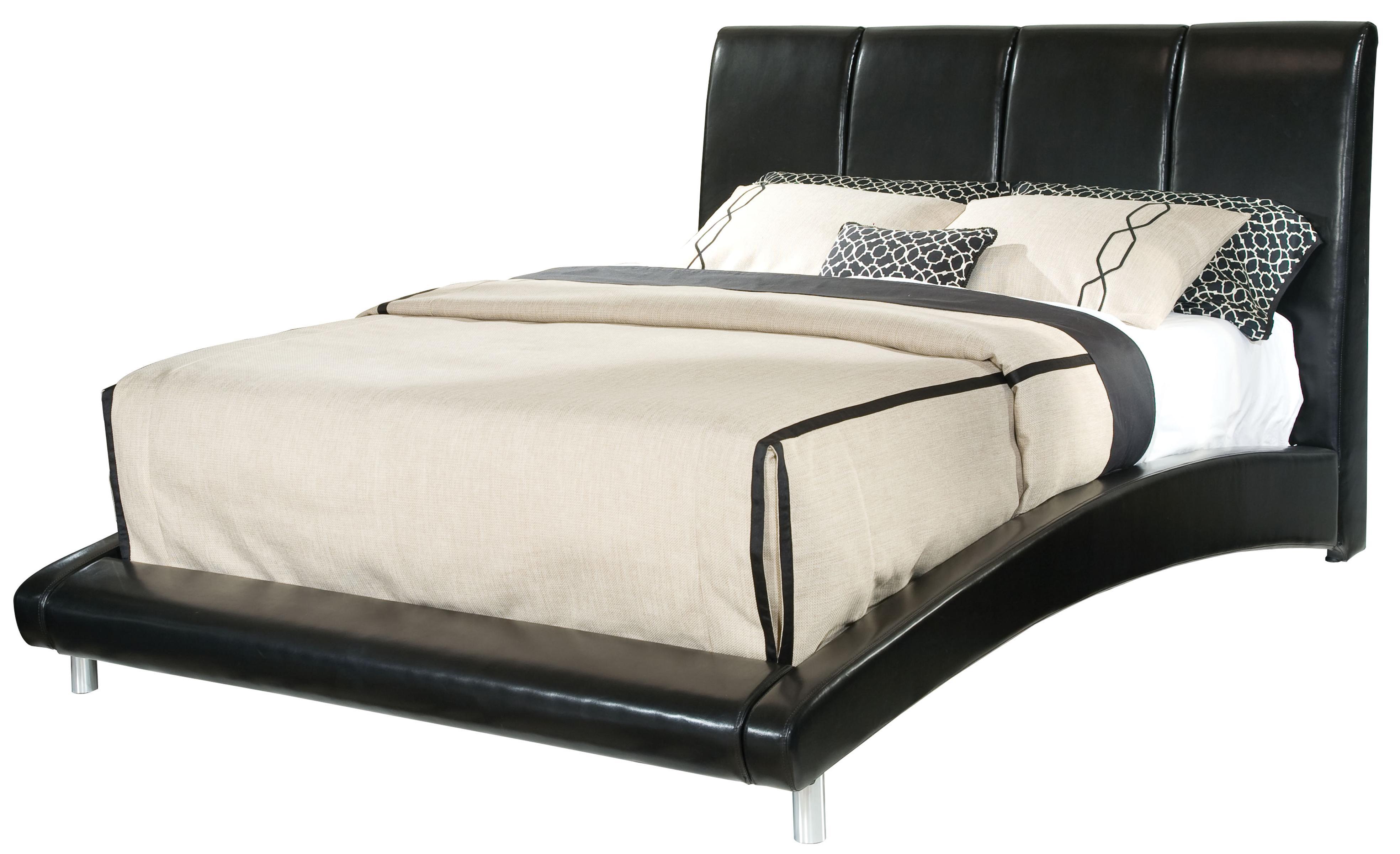 Standard Furniture Moderno King Upholstered Platform Bed  - Item Number: 99511+12