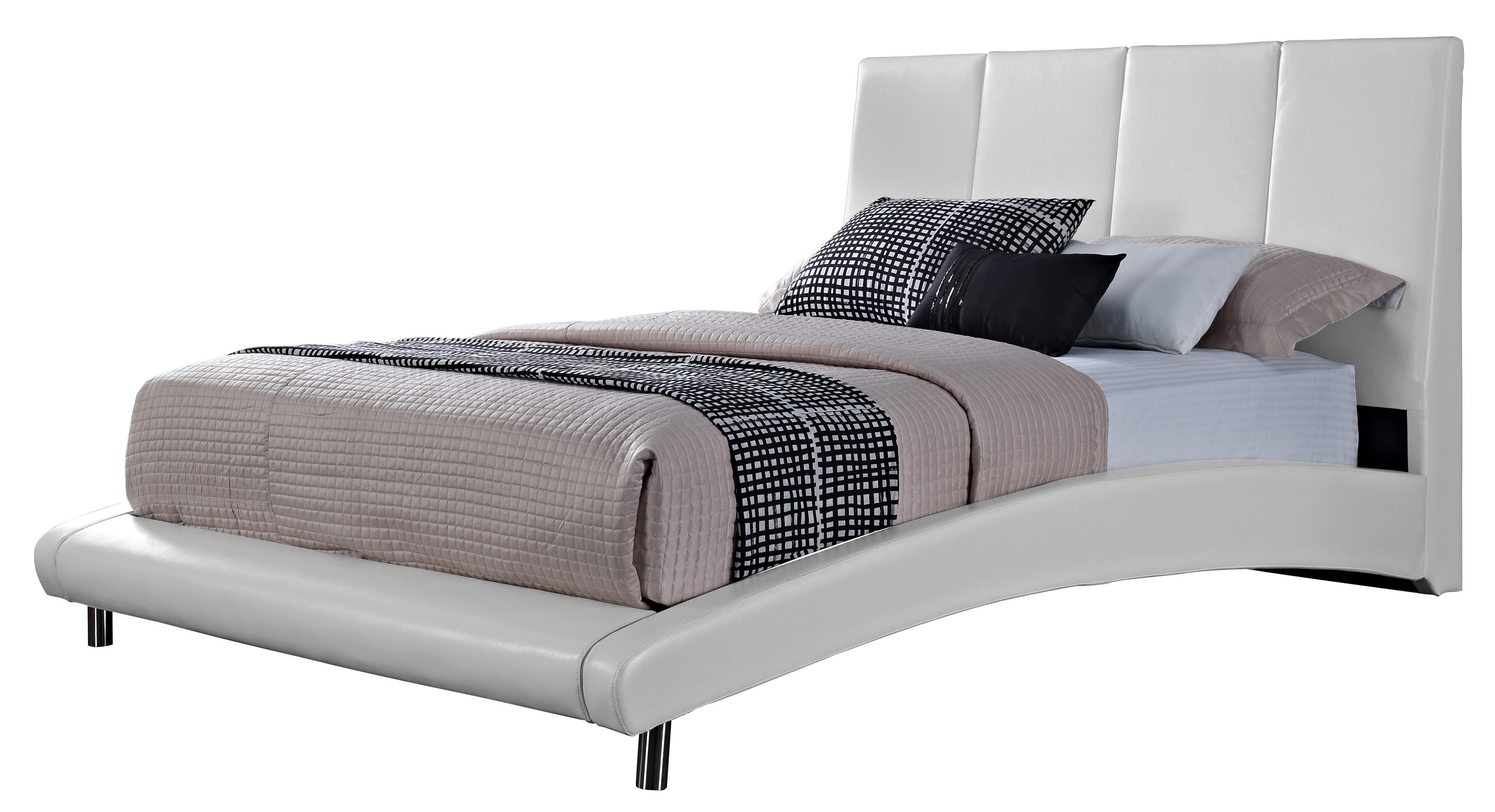 Standard Furniture Moderno  King Upholstered Platform Bed  - Item Number: 99517+18