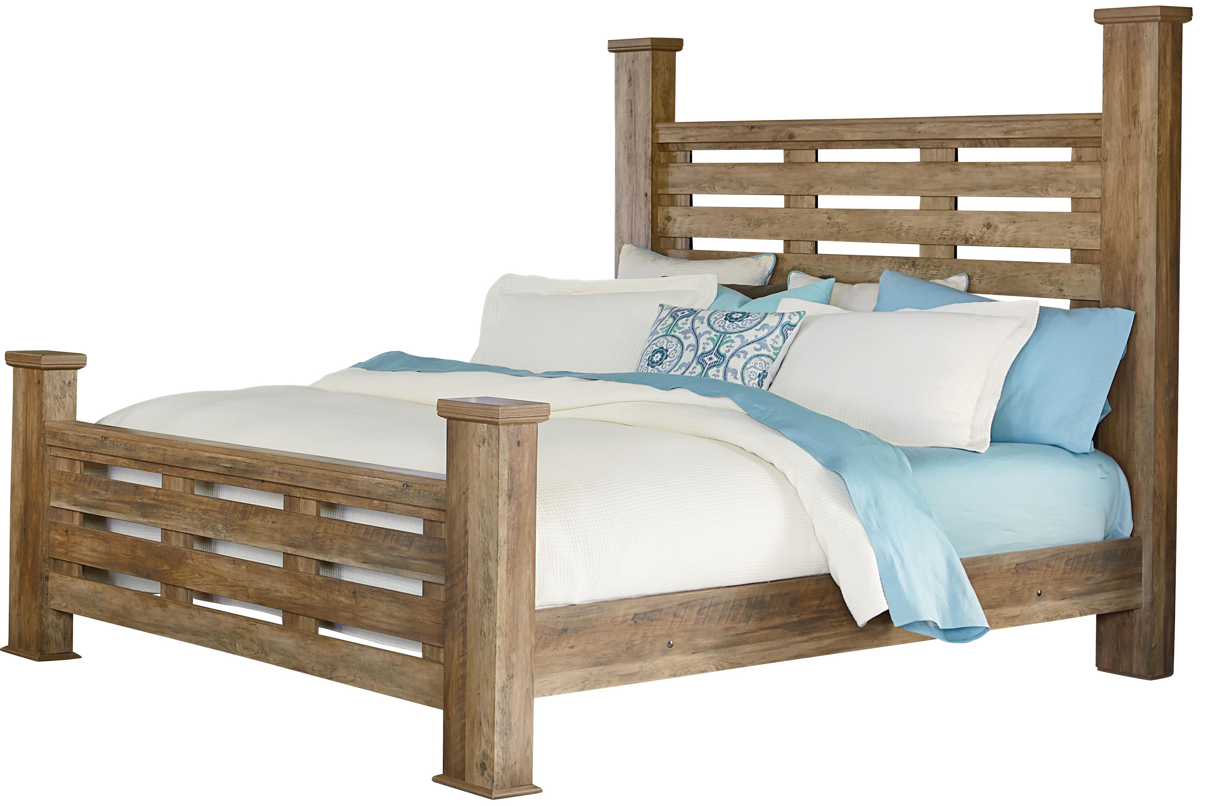 Standard Furniture Montana Queen Poster Bed Item Number 52451 61 80   Standard Furniture Montana Rustic. Montana Bedroom Furniture Collection