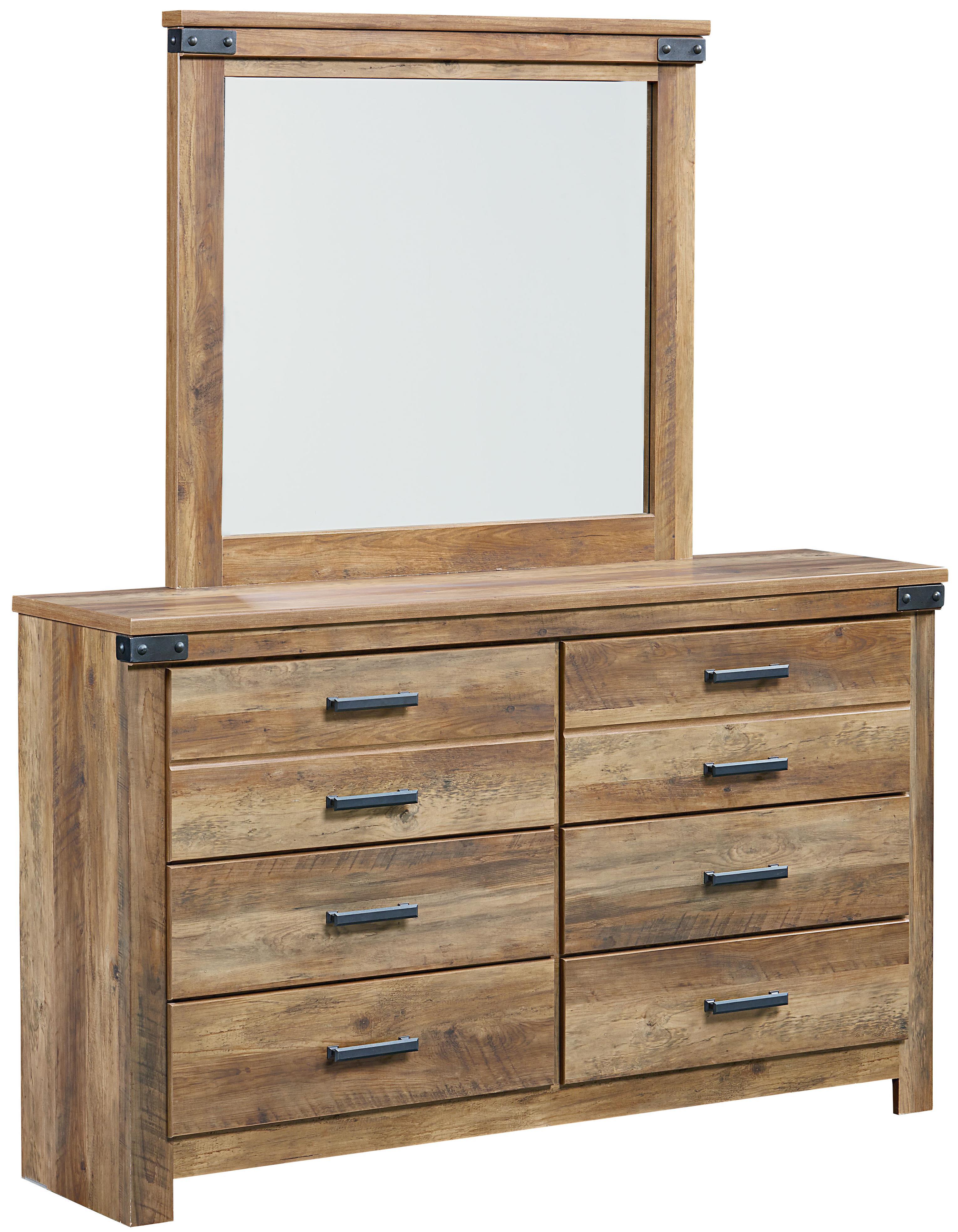 Standard Furniture Montana Dresser + Mirror - Item Number: 52459+68