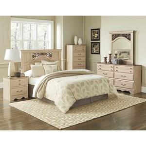 Image result for STANDARD FURNITURE BEDROOM SET CREAM MODEL#68251