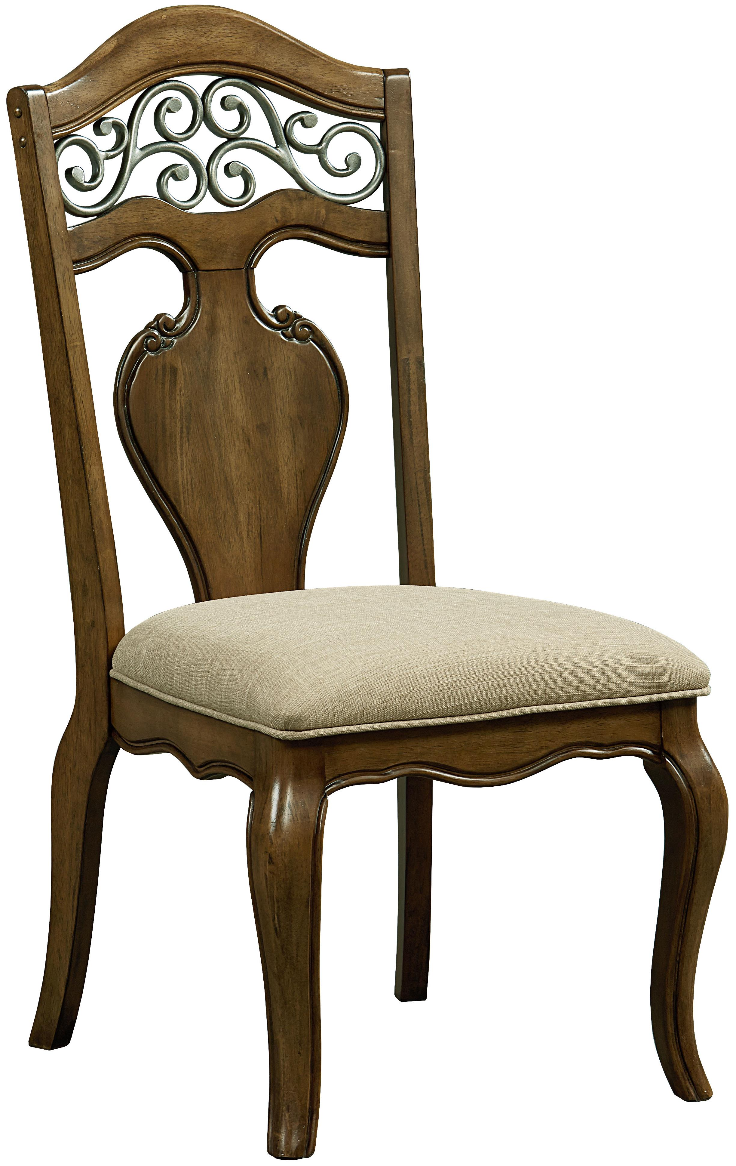Standard Furniture Monterey Side Chair               - Item Number: 14364