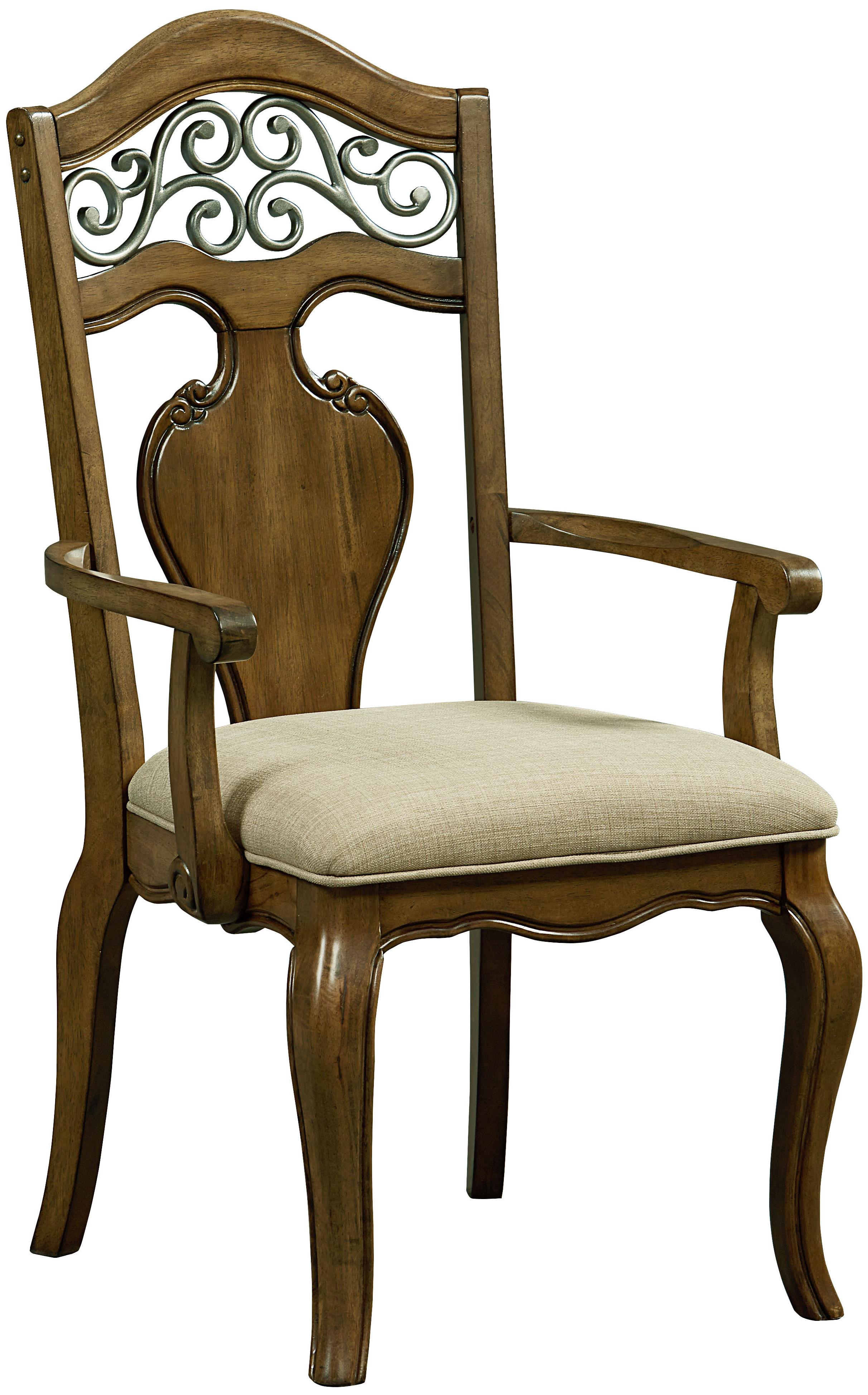Standard Furniture Monterey Arm Chair 2/CTN                 - Item Number: 14365