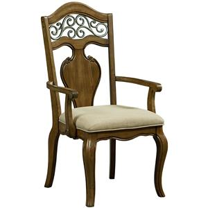Standard Furniture Monterey Arm Chair 2/CTN