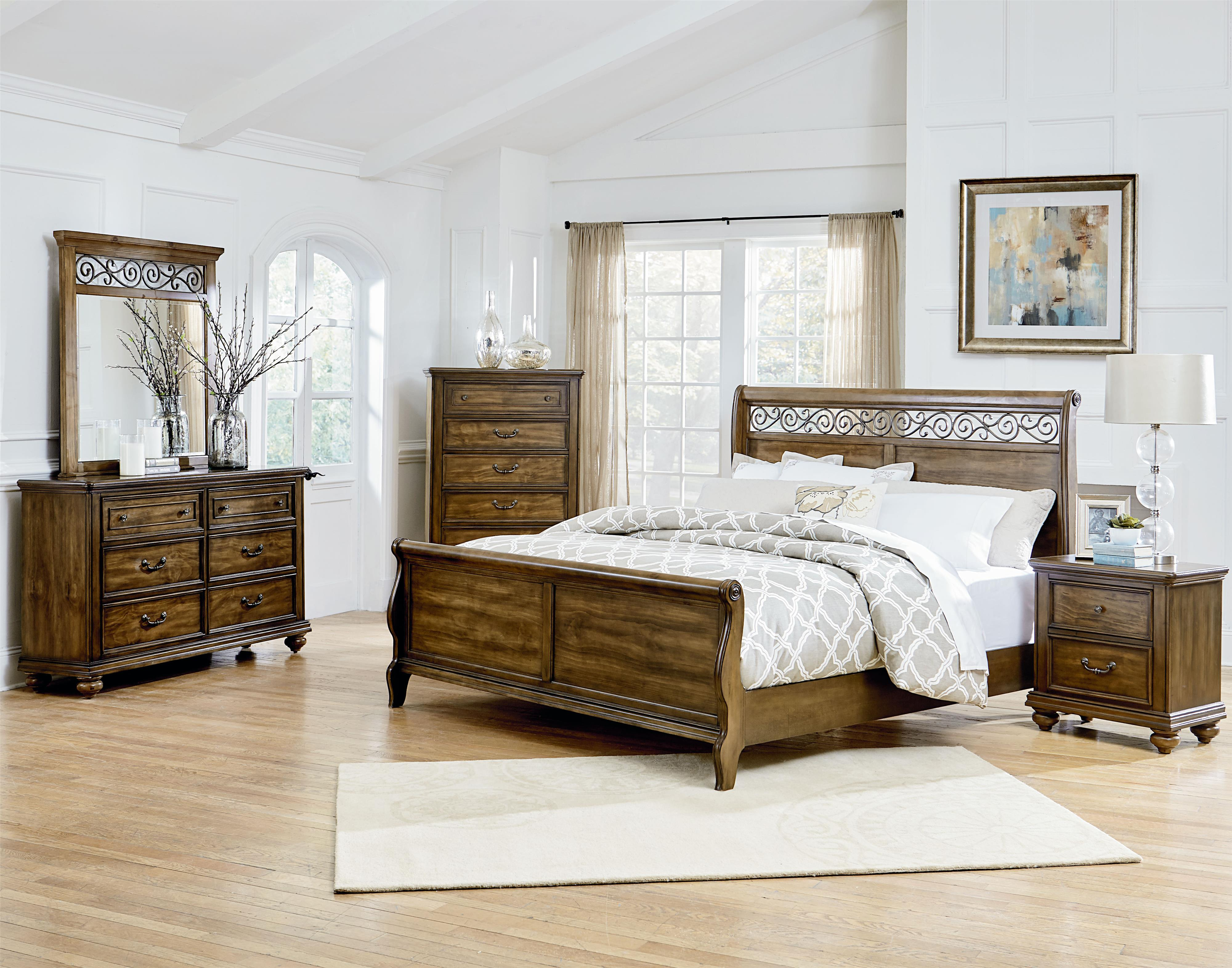 Standard Furniture Monterey Queen Bedroom Group - Item Number: 81900 Q Bedroom Group 1