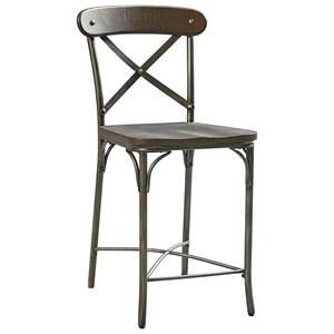 Standard Furniture Montvale Metal X Back Stool