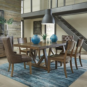 Standard Furniture Nelson 7 Piece Dining Set