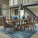 Standard Furniture Nelson 7 Piece Dining Set - Item Number: 17126+2x29+4x24