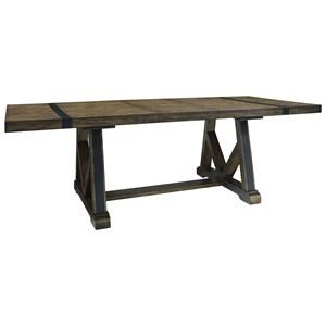 Standard Furniture Nelson Trestle Table