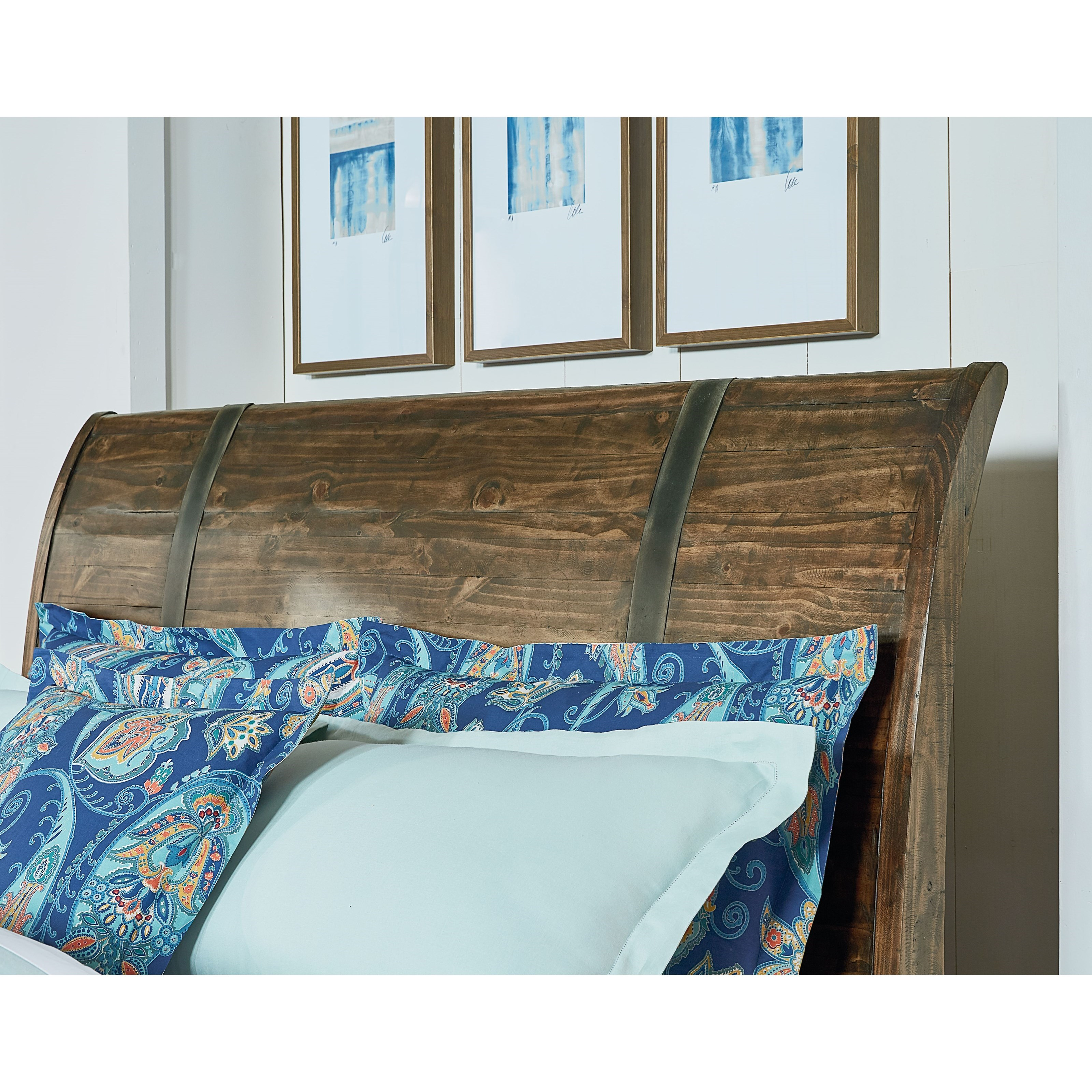 Standard Furniture Nelson Rustic King Sleigh Bed Jacksonville Furniture Mart Sleigh Beds