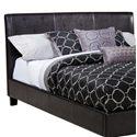 Standard Furniture New York  Queen Black Upholstered Headboard - Item Number: 93981