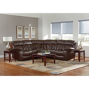 Standard Furniture North Shore Reclining Sectional Sofa