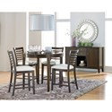 Standard Furniture Noveau Oval Counter Height Pub Table