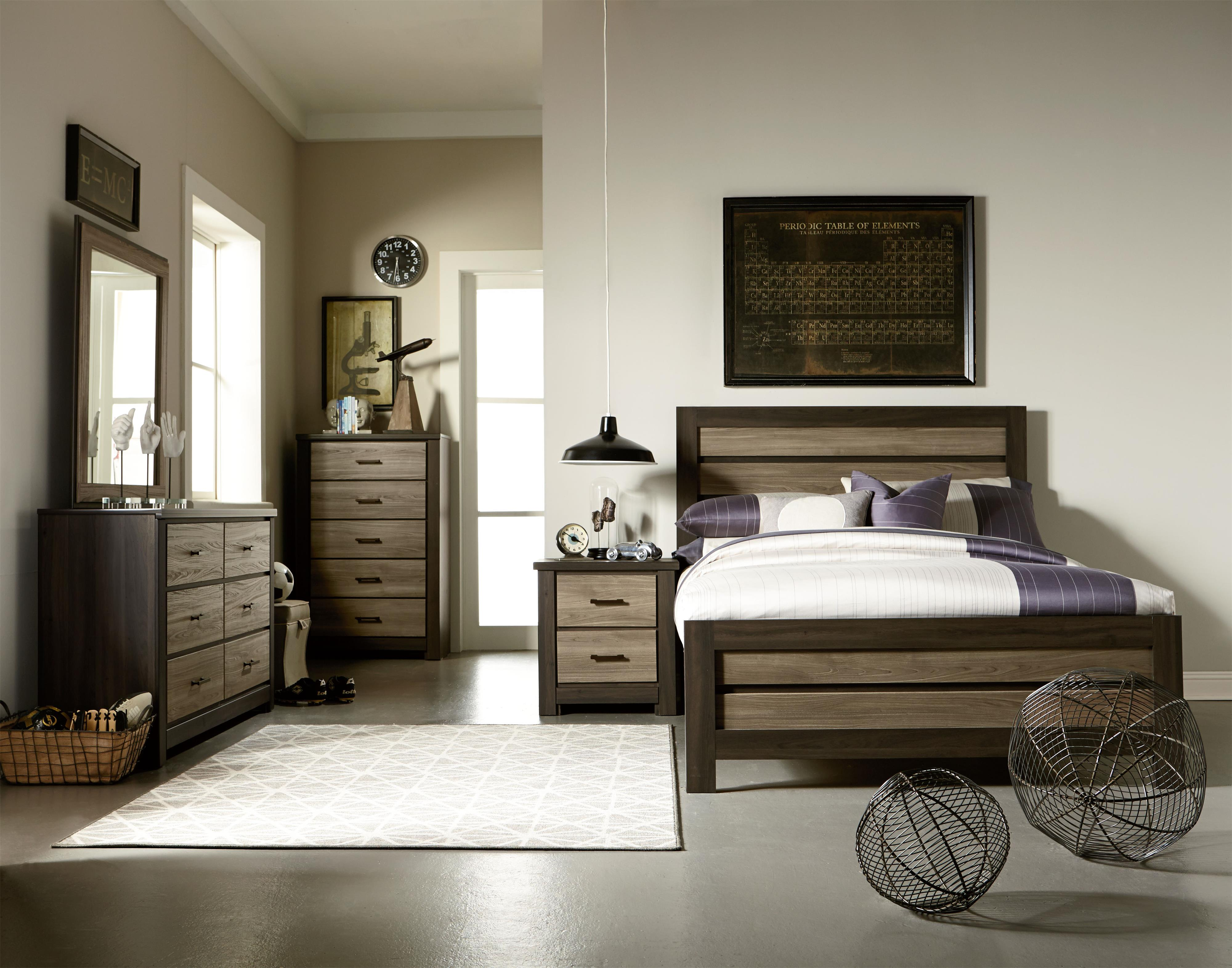 Standard Furniture Oakland Twin Bedroom Group - Item Number: 69700 T Bedroom Group 2