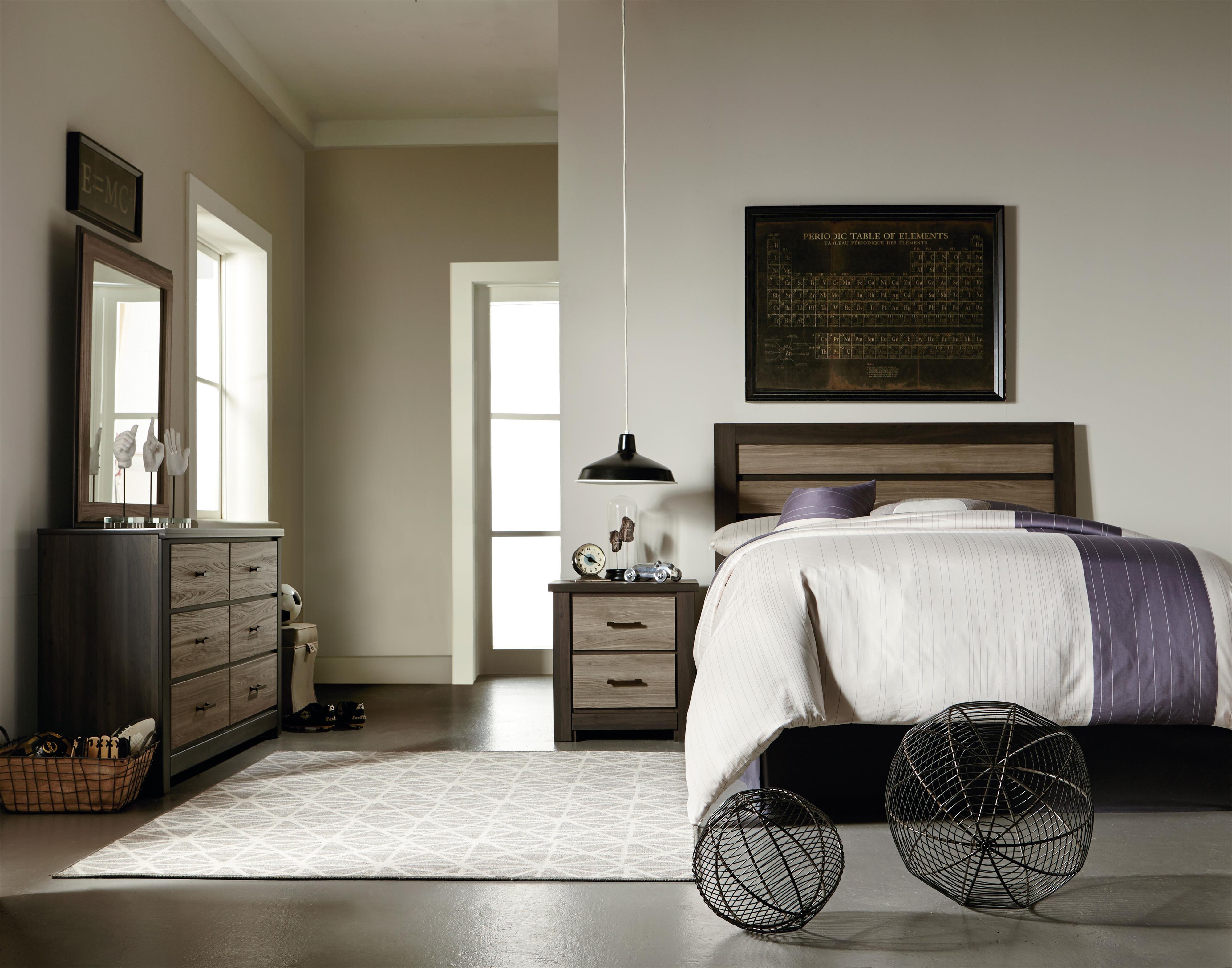 Standard Furniture Oakland Twin Bedroom Group - Item Number: 69700 T Bedroom Group 3