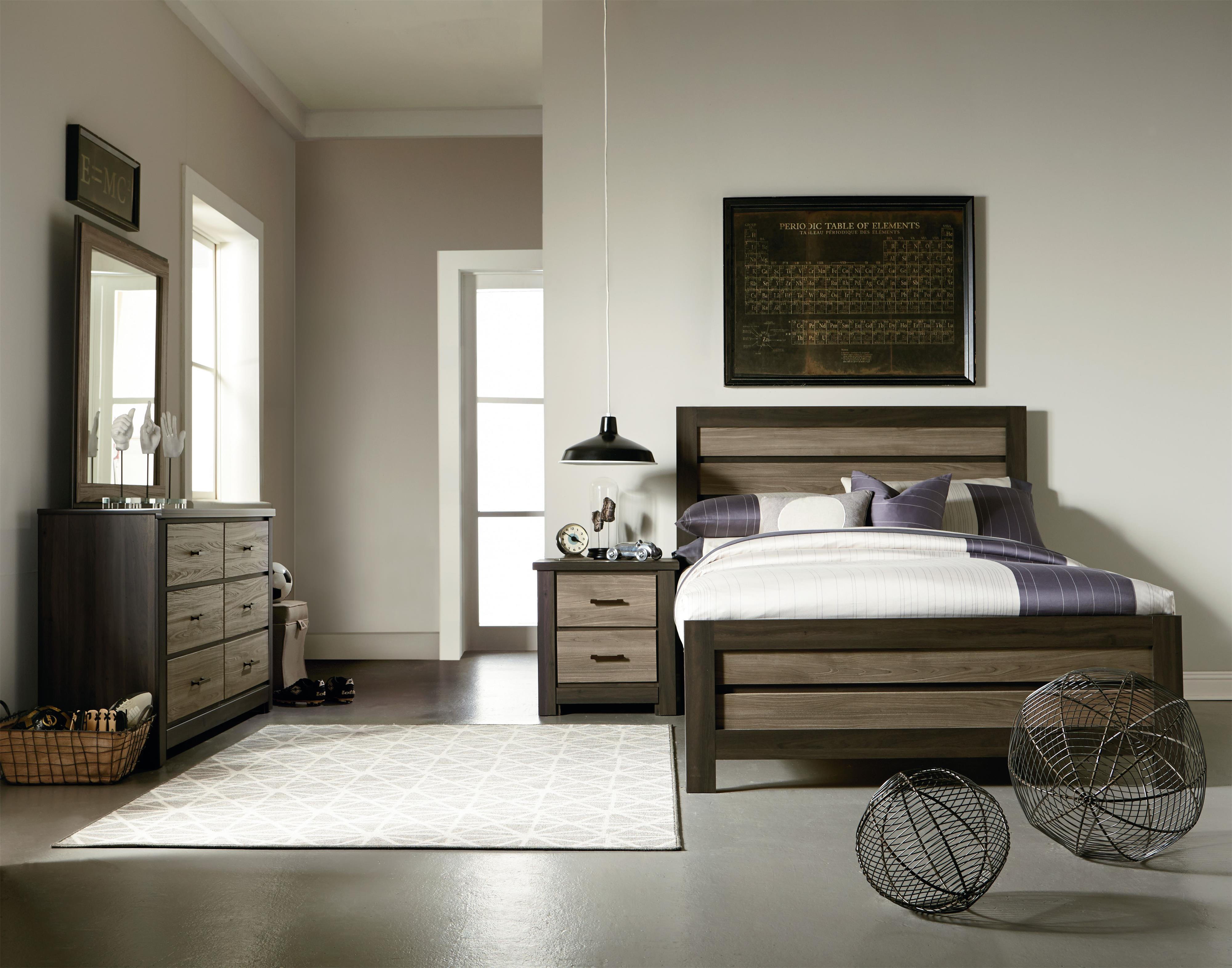 Standard Furniture Oakland Twin Bedroom Group - Item Number: 69700 T Bedroom Group 4