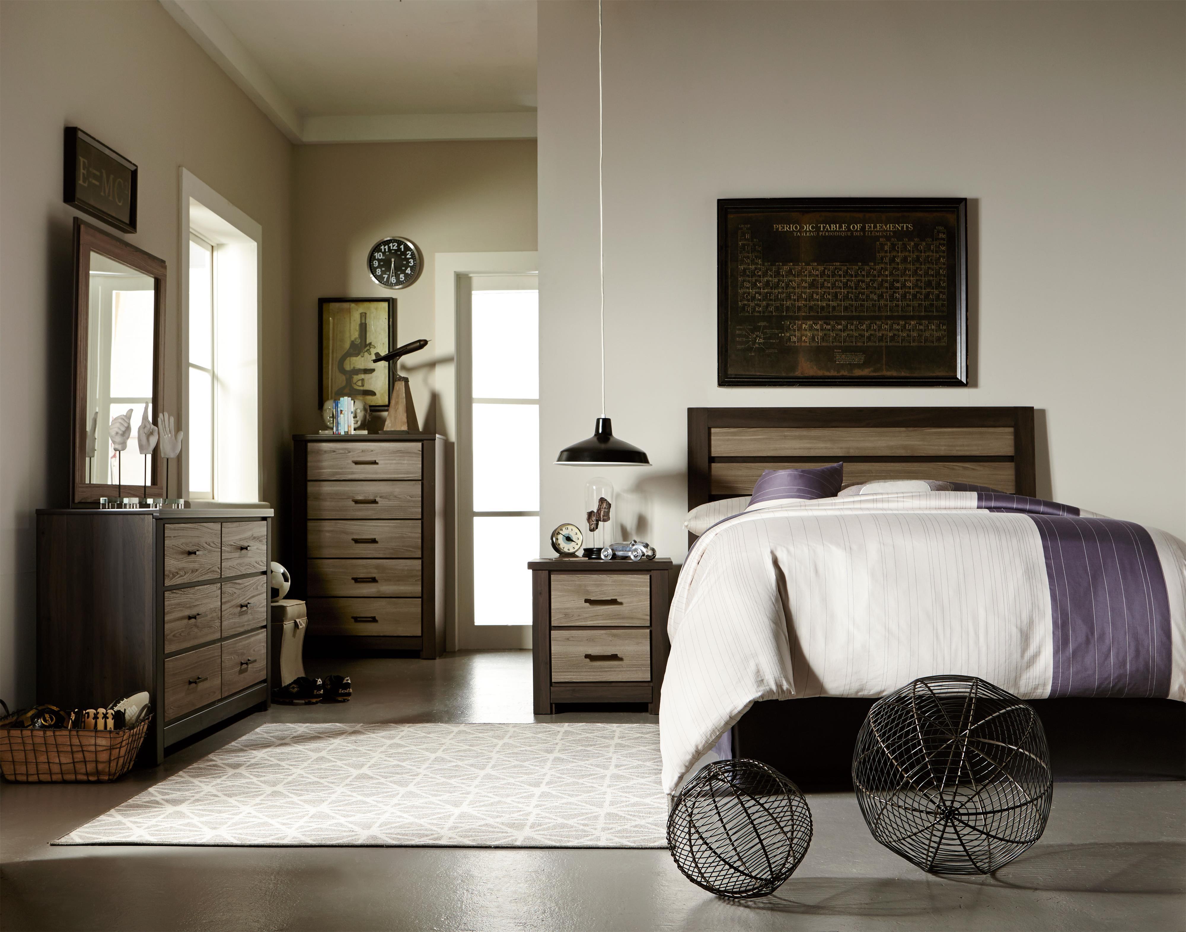 Standard Furniture Oakland Twin Bedroom Group - Item Number: 69700 T Bedroom Group 5