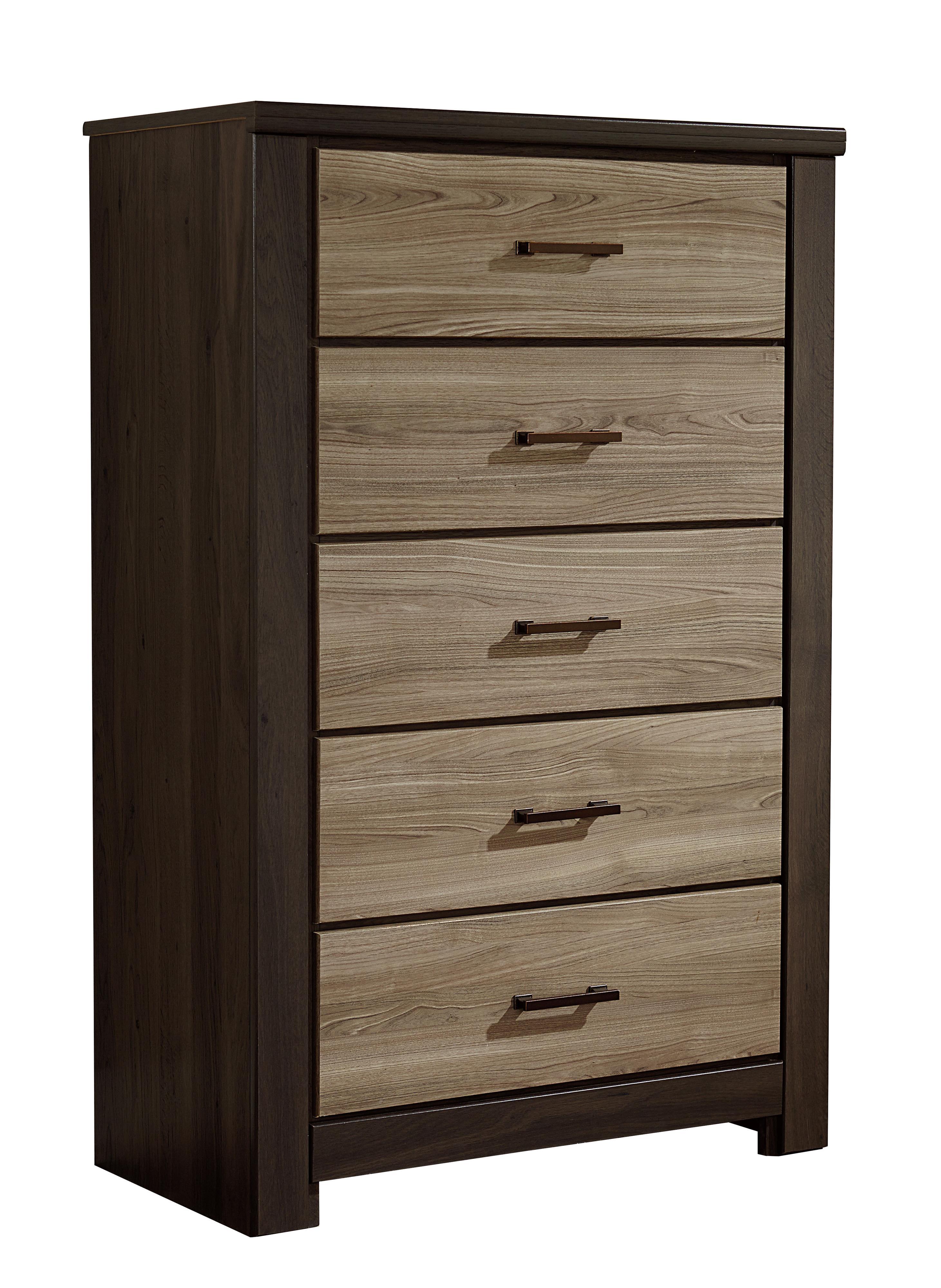 Standard Furniture Oakland Five Drawer Chest                     - Item Number: 69705