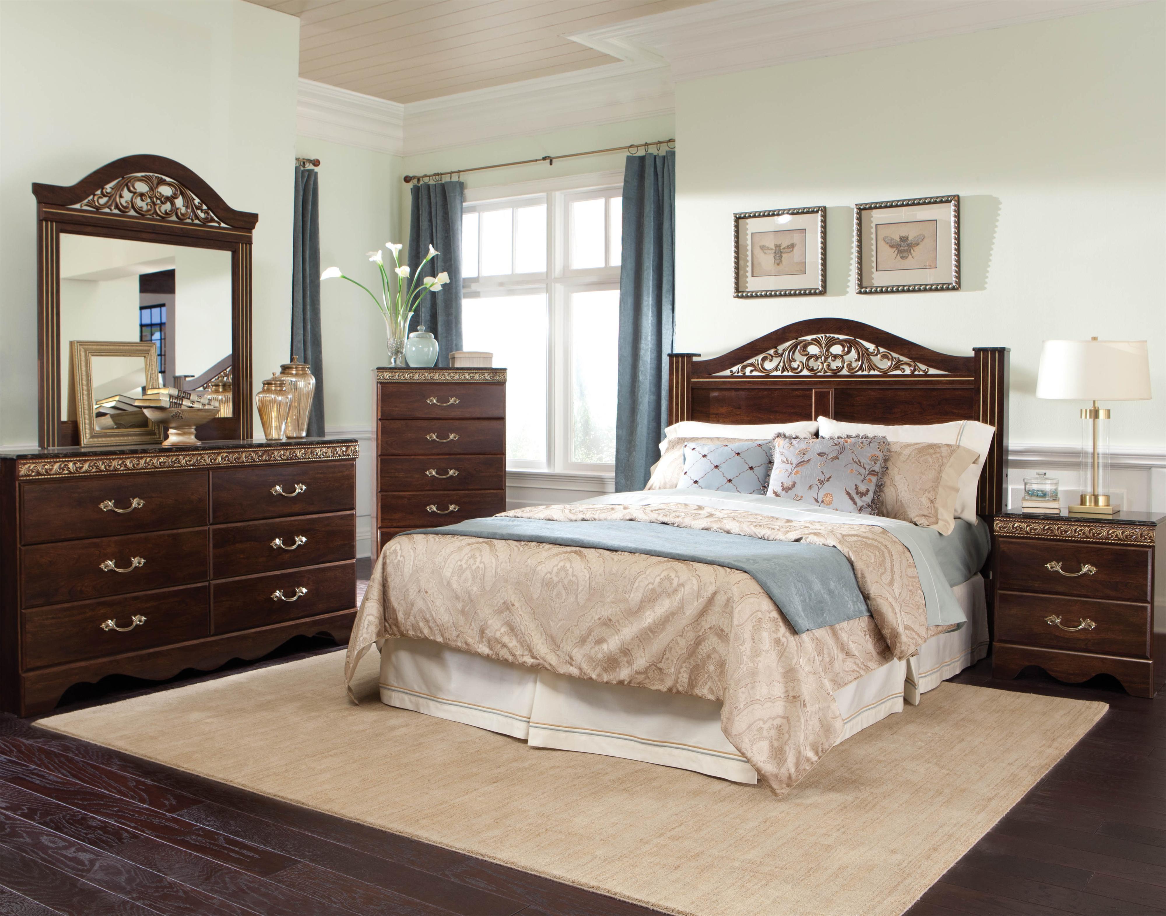 Standard Furniture Odessa Full/Queen Bedroom Group - Item Number: 69500 Queen Bedroom Group 2