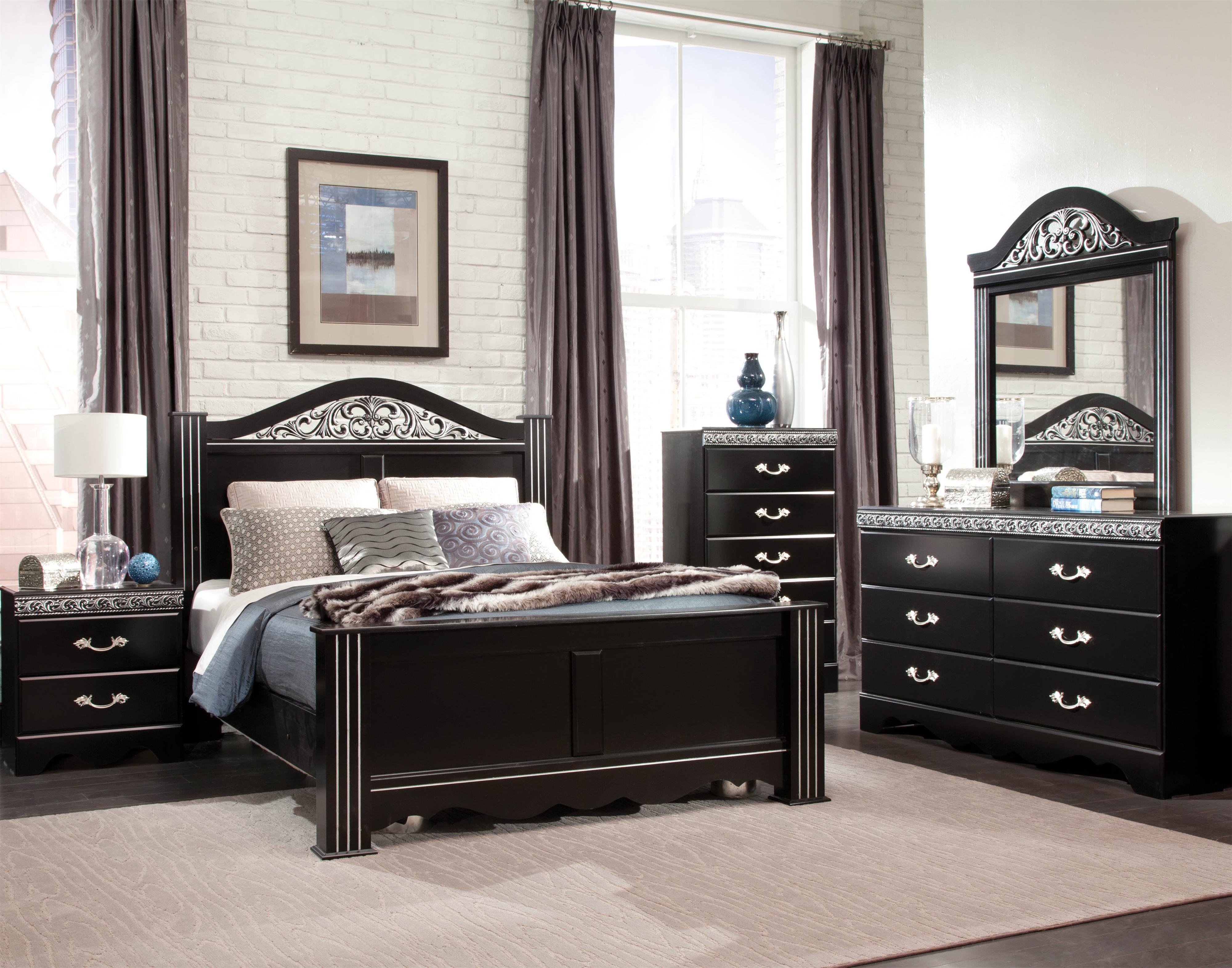 Standard Furniture Odessa Queen Bedroom Group - Item Number: 69550 Queen Bedroom Group 1
