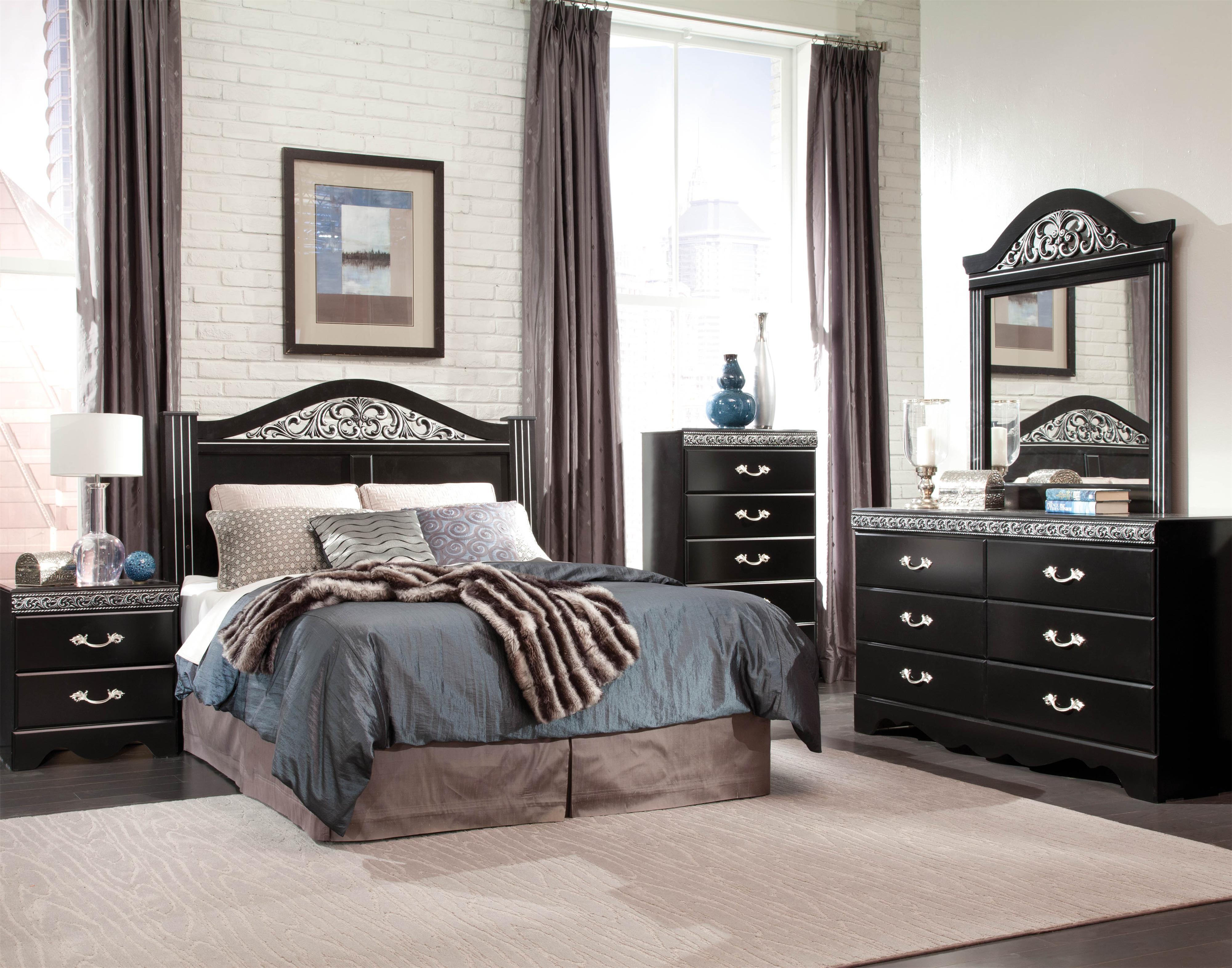 Standard Furniture Odessa Full/Queen Bedroom Group - Item Number: 69550 Queen Bedroom Group 2