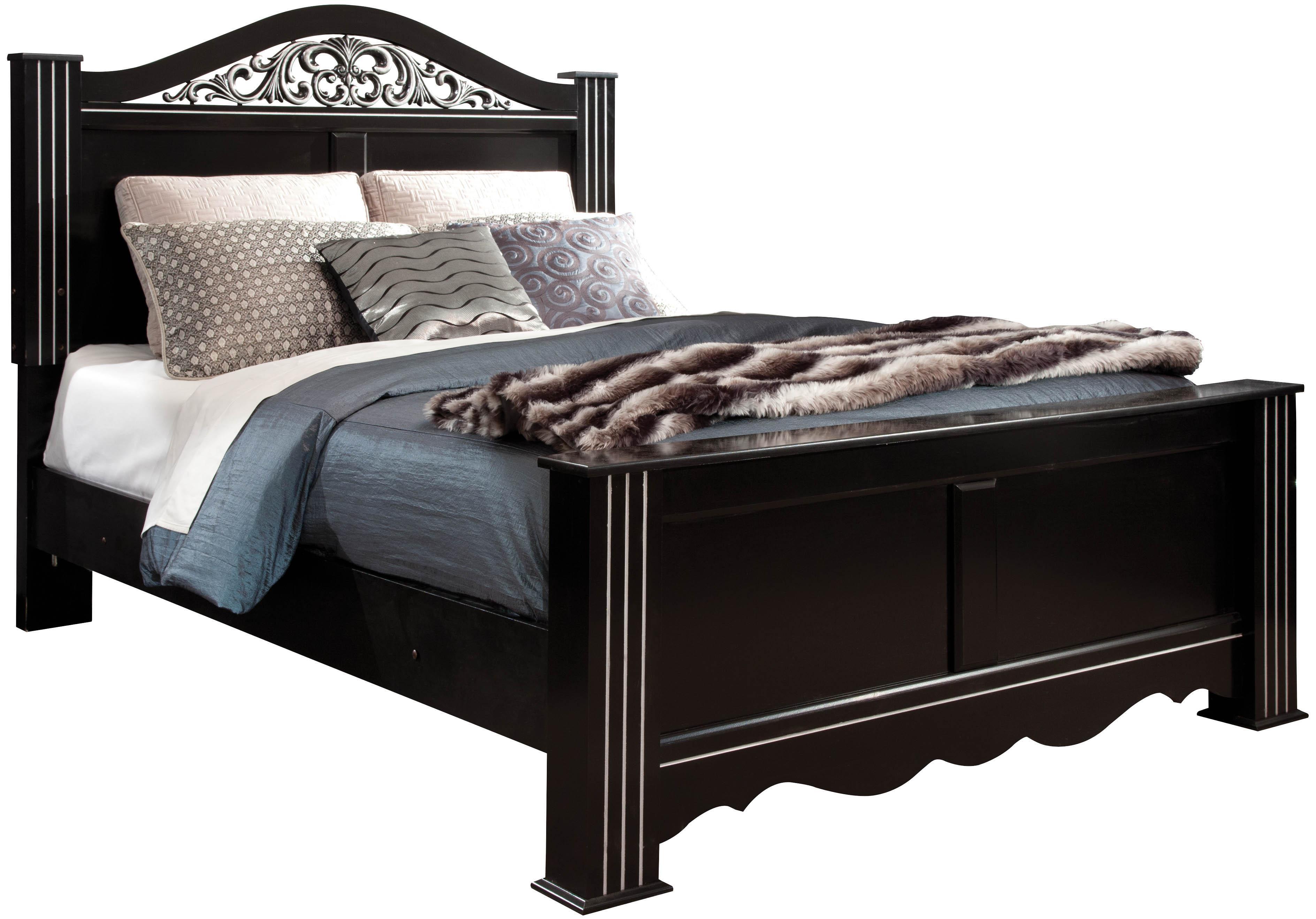 Standard Furniture Odessa King Poster Bed - Item Number: 69566+69570+69576