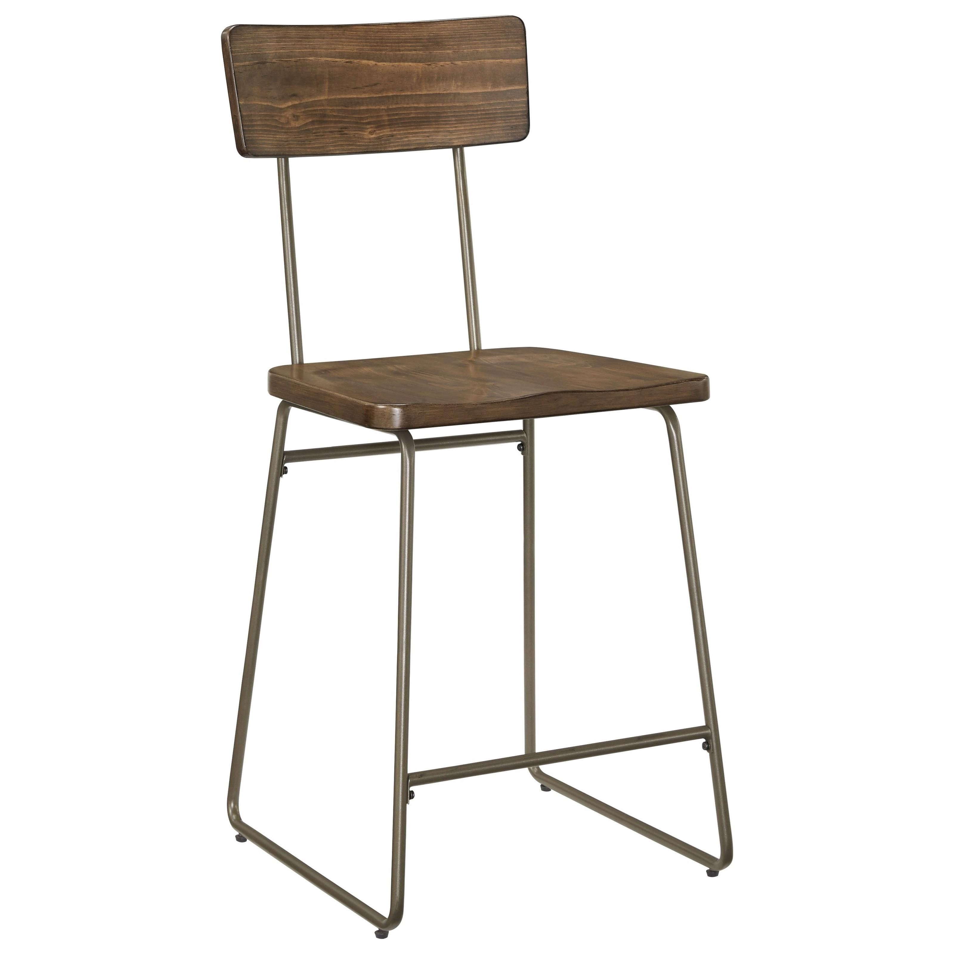 Standard furniture oslo industrial counter height stool olinde 39 s furniture bar stool - Standard counter height stool ...