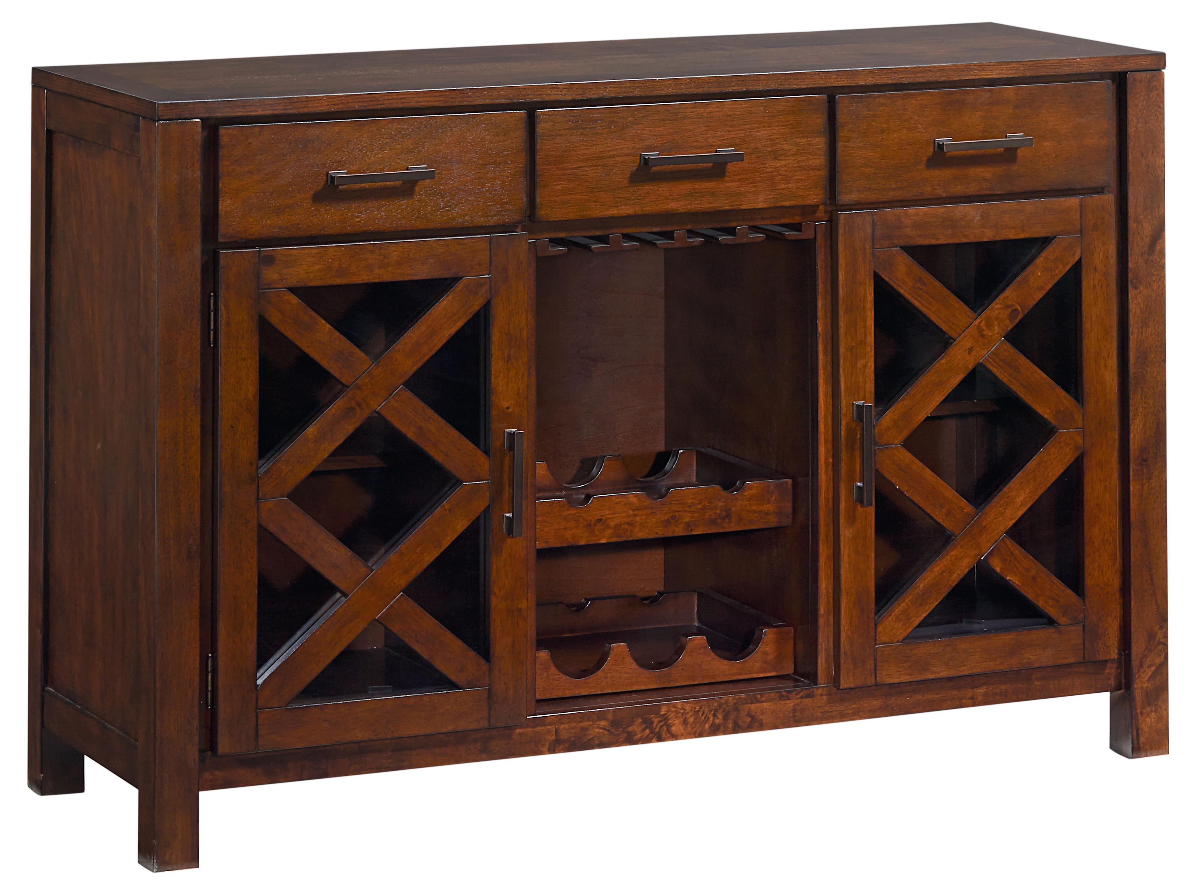 Standard Furniture Omaha Brown Sideboard - Item Number: 16182