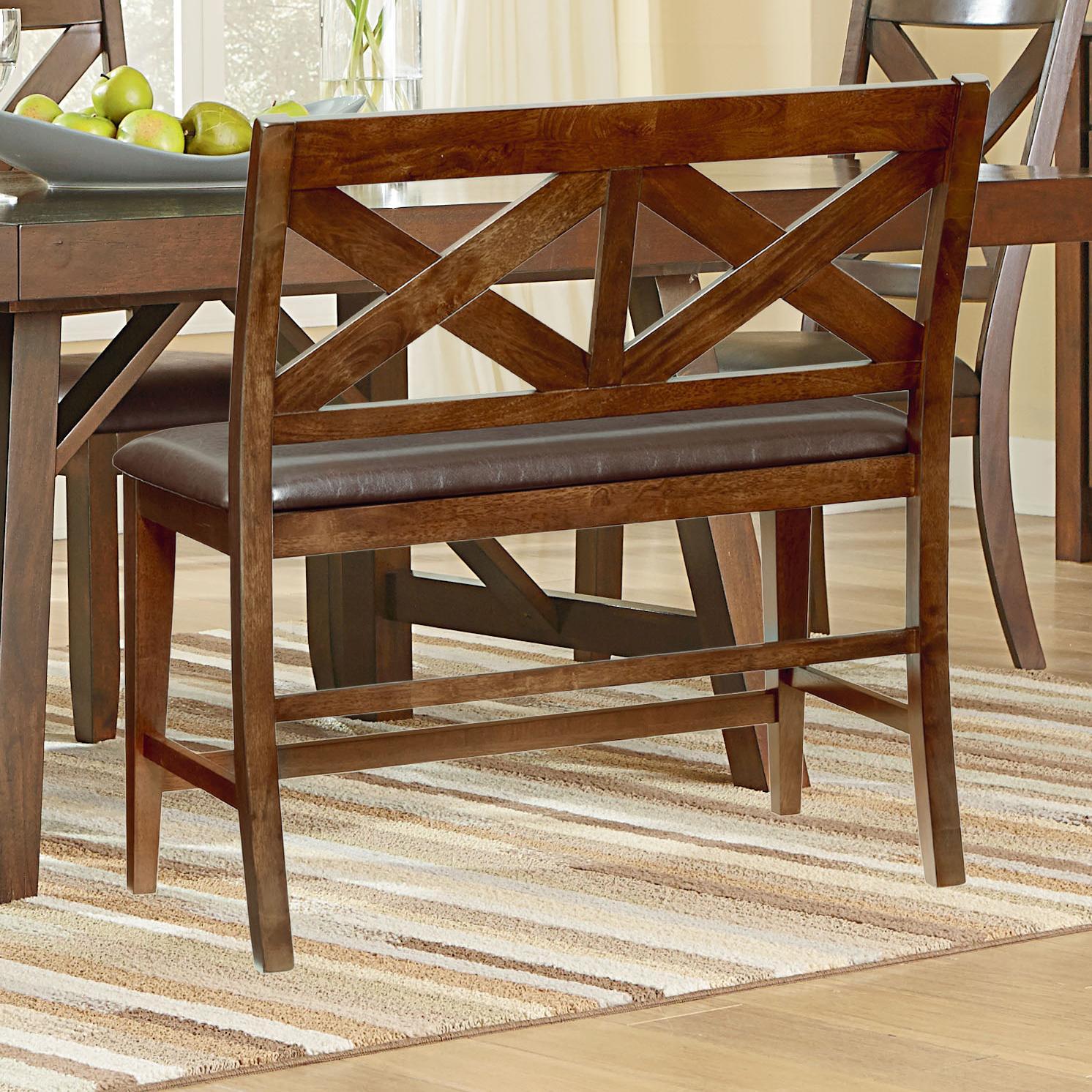 Standard Furniture Omaha Brown Dining Bench - Item Number: 16189