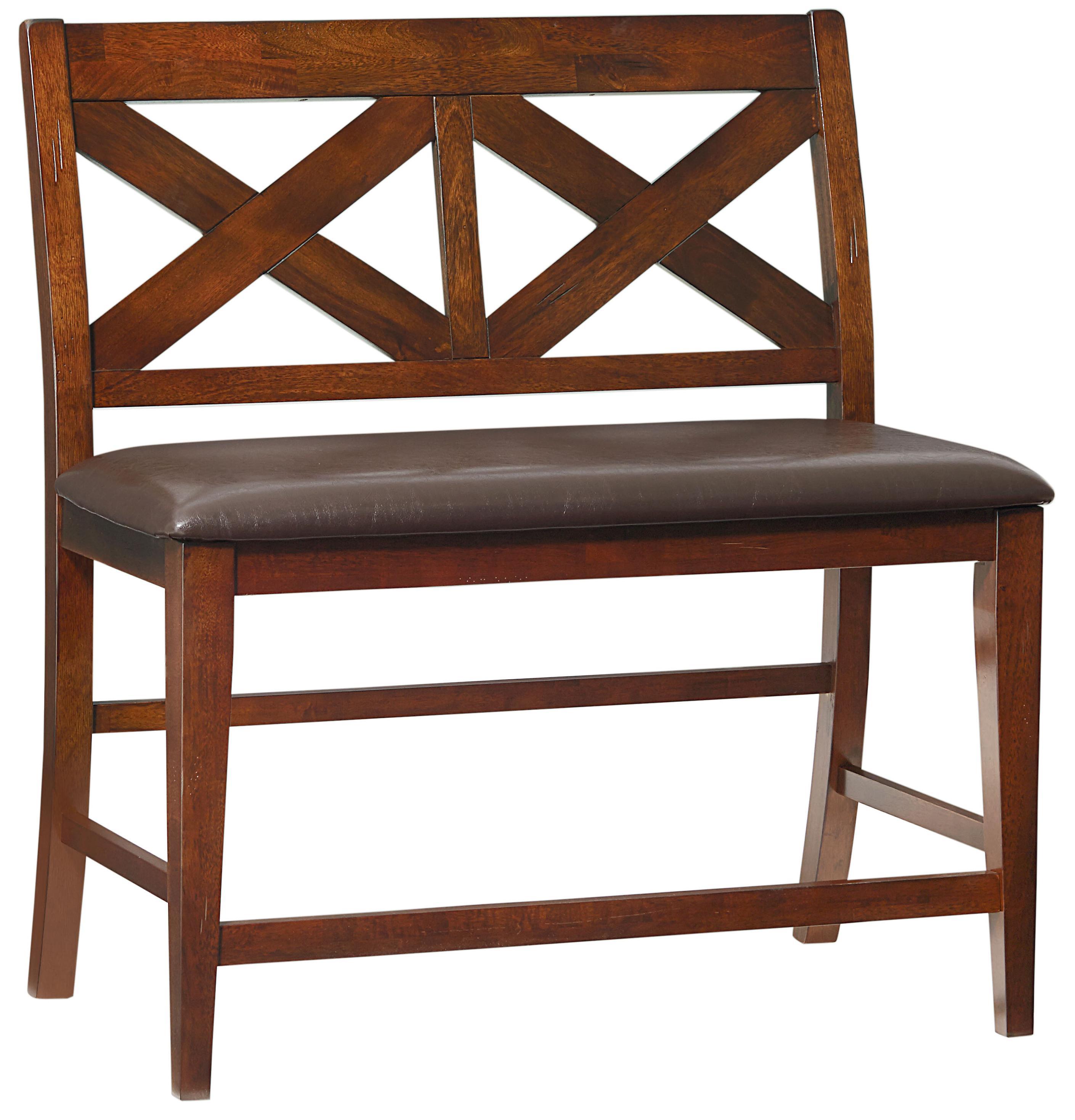 Standard Furniture Omaha Brown 6 Piece Counter Height