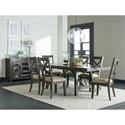 Standard Furniture Omaha Grey Formal Dining Room Group - Item Number: 16680 Dining Room Group 2