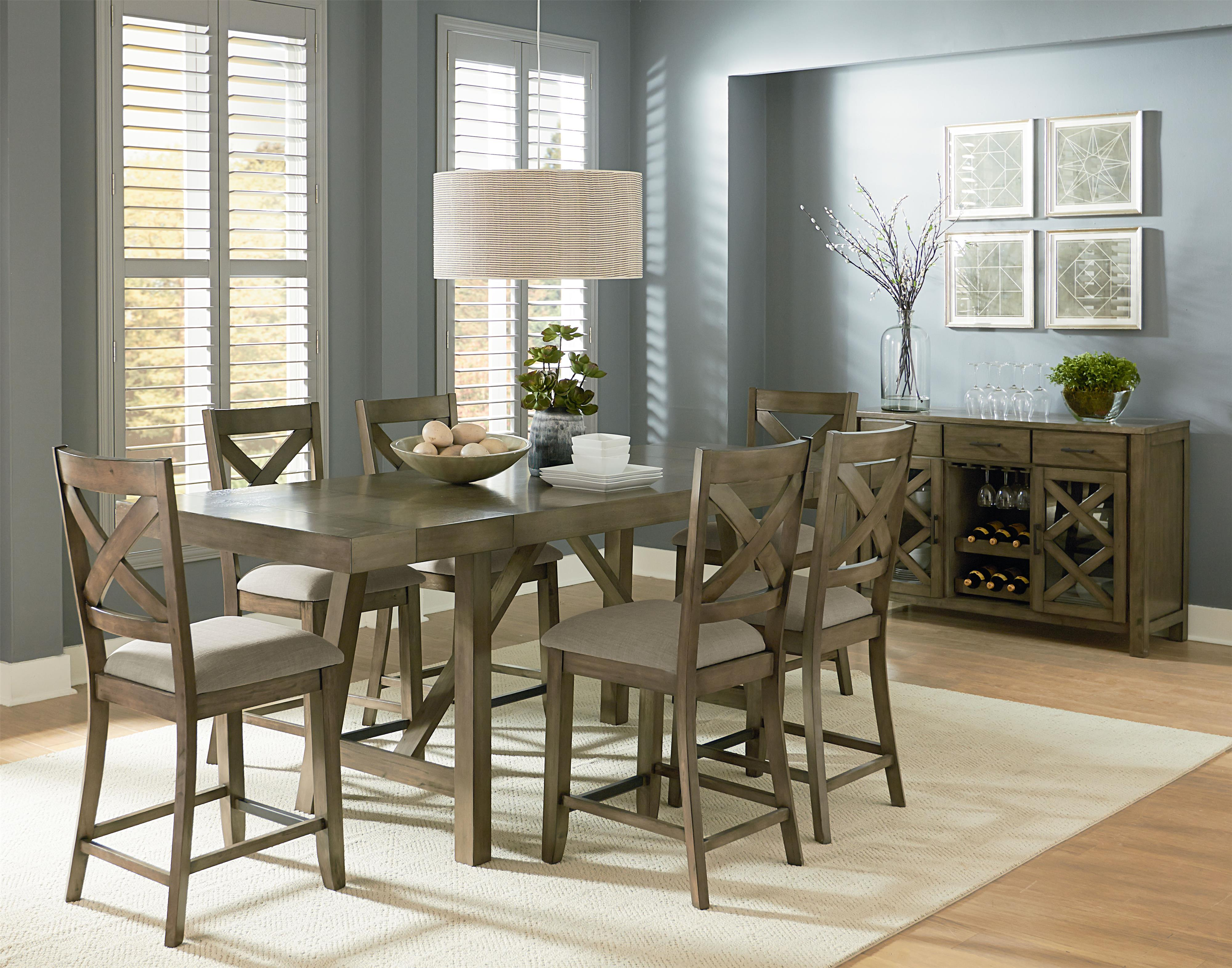 Standard Furniture Omaha Grey Casual Dining Room Group   Item Number: 16680  Dining Room Group