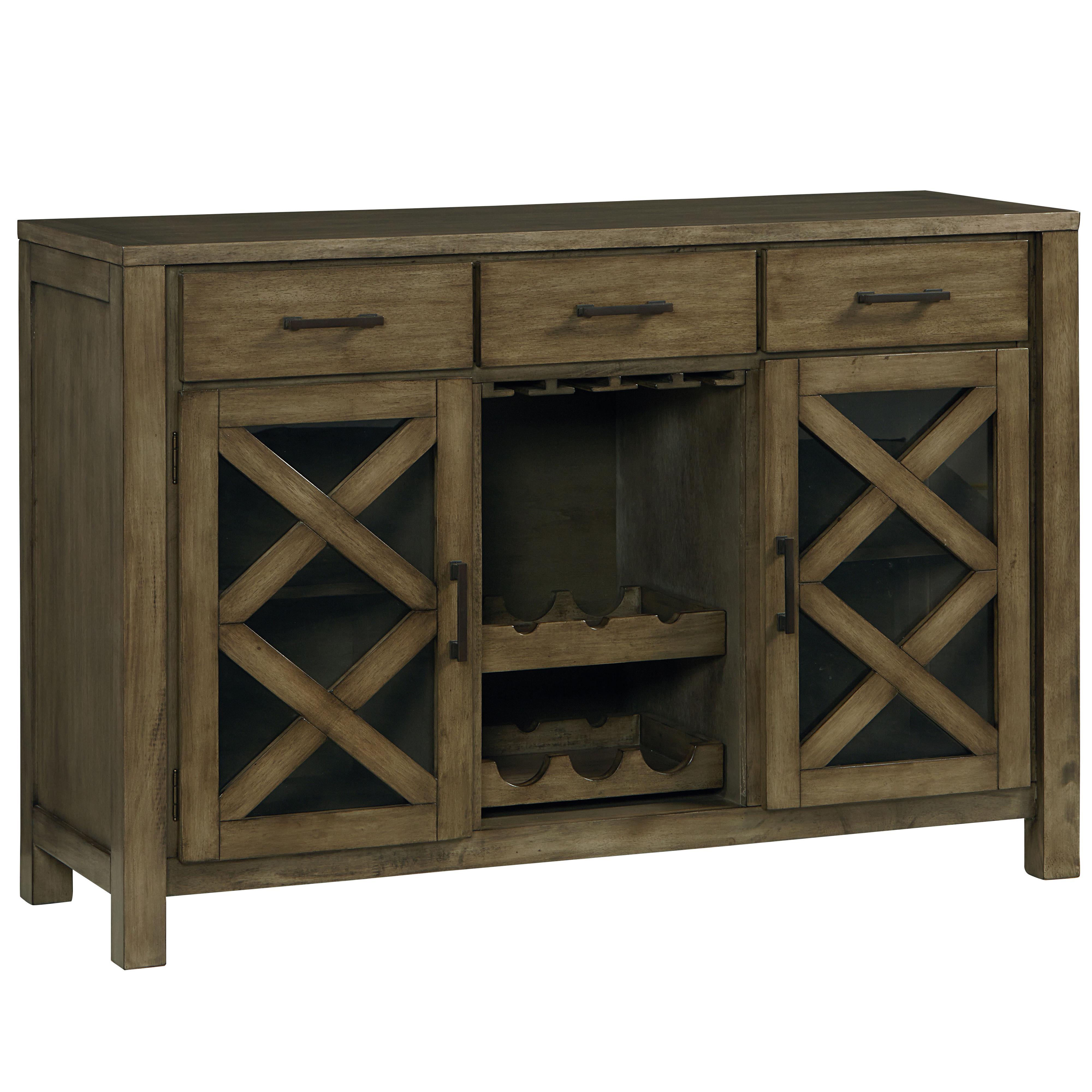Standard Furniture Omaha Grey Sideboard - Item Number: 16682