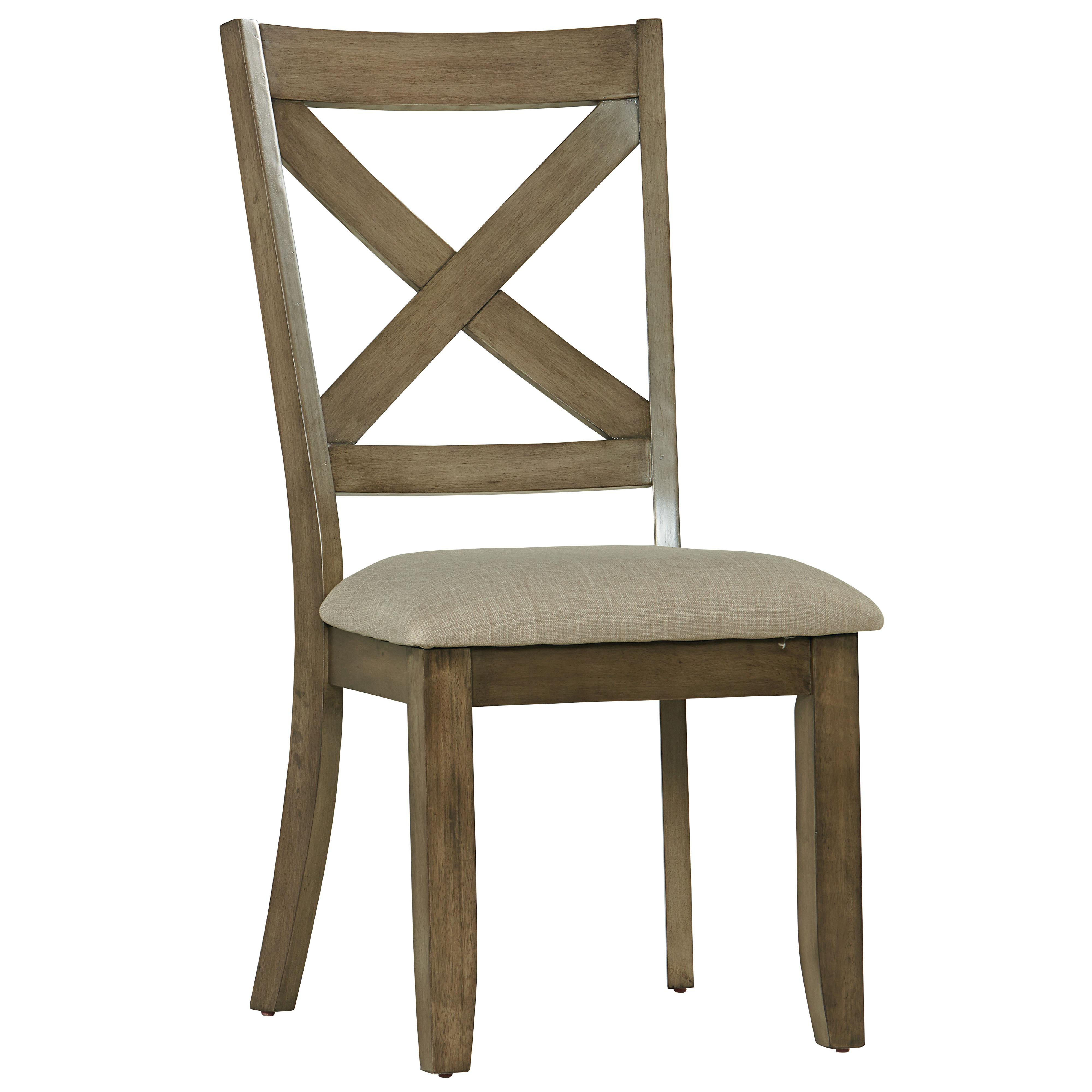 Standard Furniture Omaha Grey Side Chair - Item Number: 16684