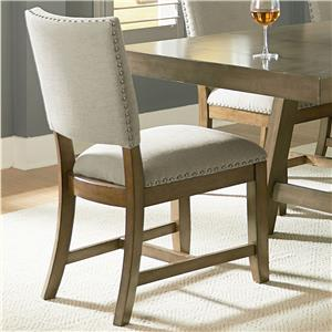 Standard Furniture Omaha Grey Side Chair