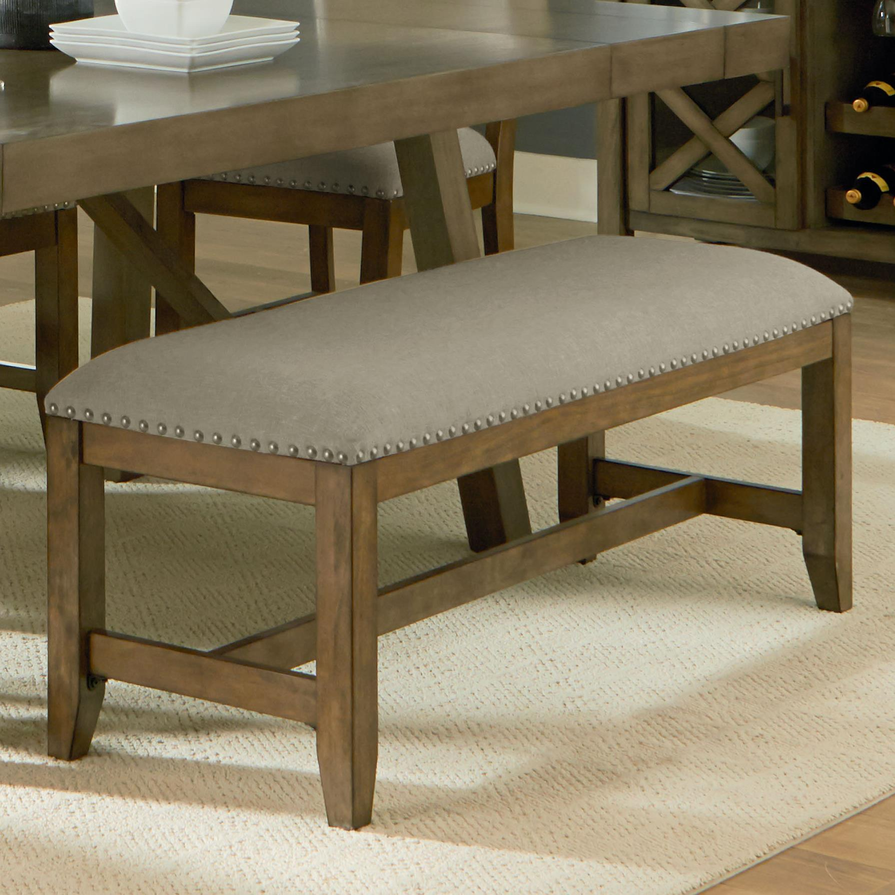 Standard Furniture Omaha Grey Dining Bench - Item Number: 16688