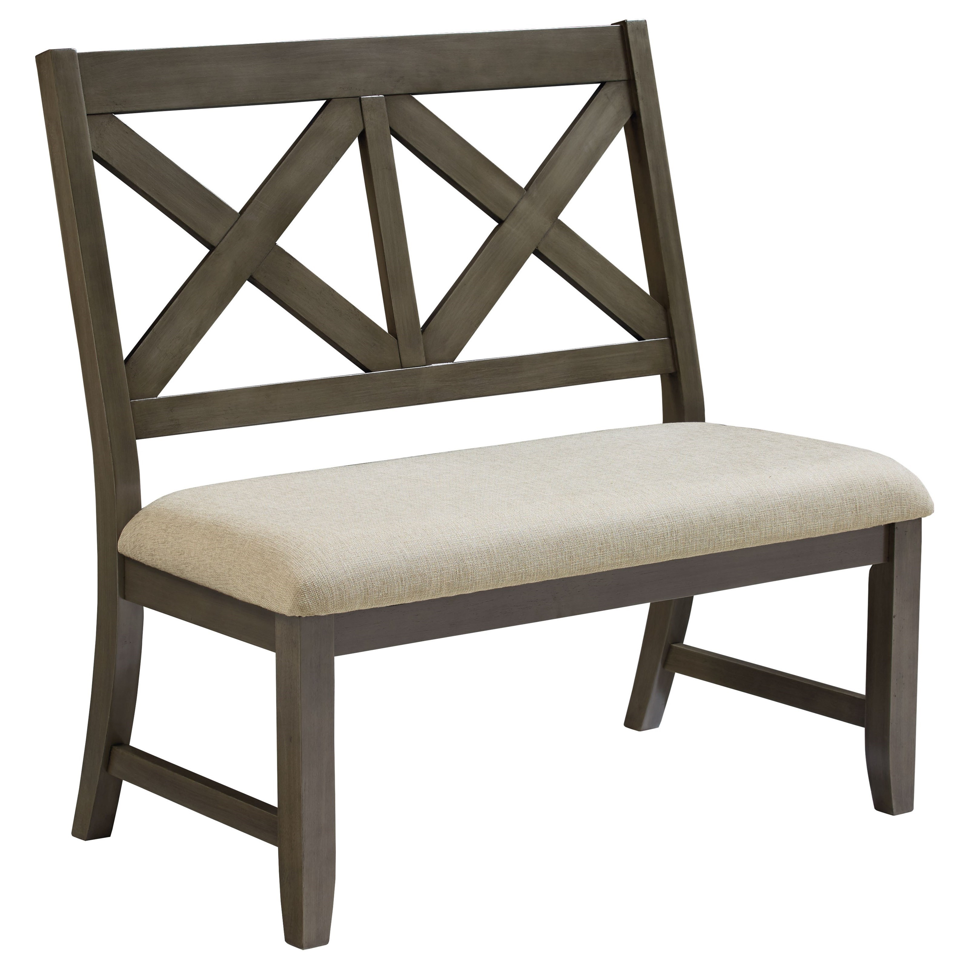 Standard Furniture Omaha Grey 16689 Upholstered Dining