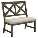 Standard Furniture Omaha Grey Dining Bench - Item Number: 16689