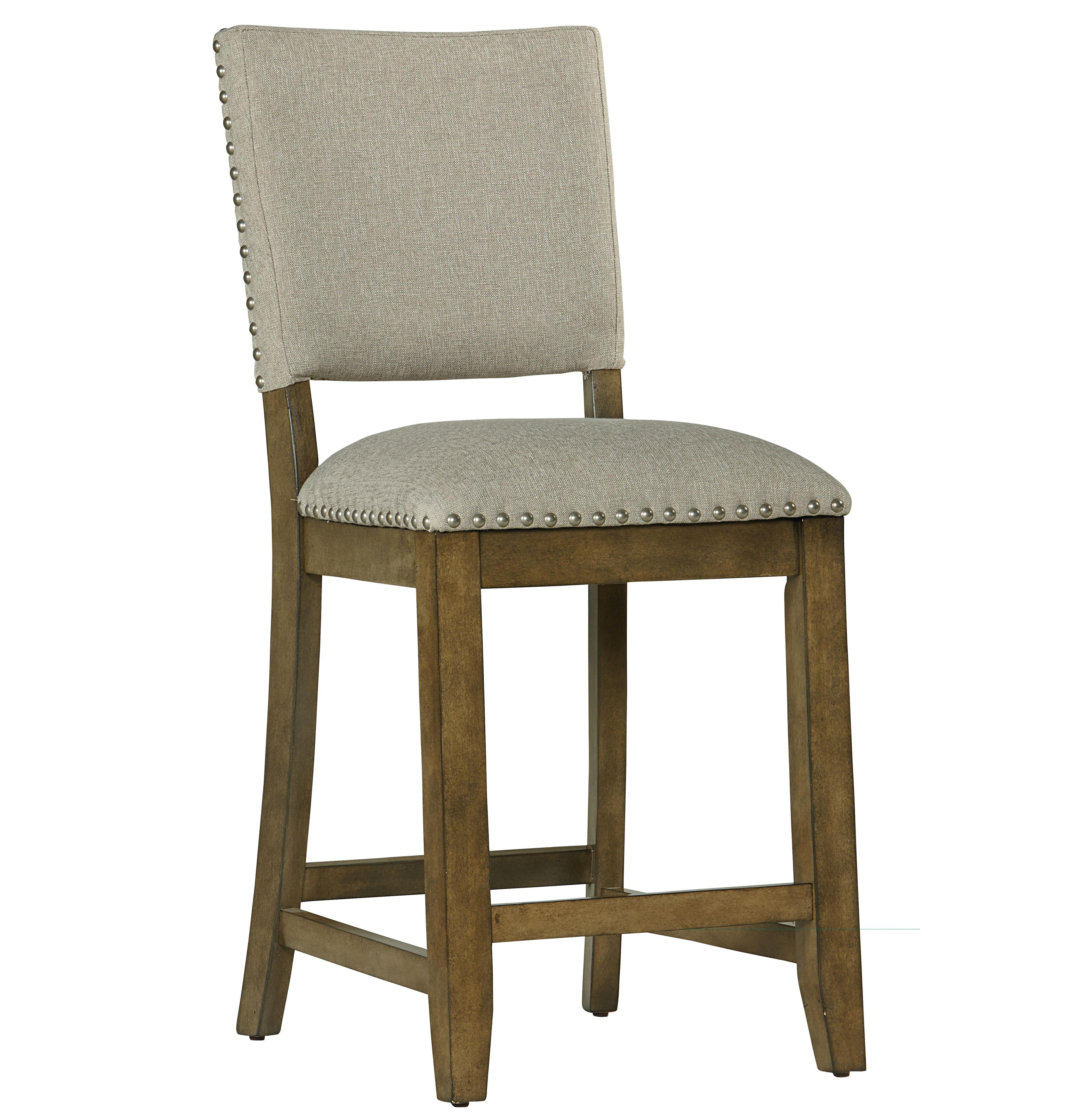 Gray Counter Height Chairs Emerald Home Brighton Dove