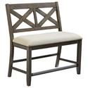 Standard Furniture Omaha Grey Dining Bench - Item Number: 16699
