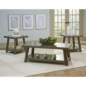 Standard Furniture Omaha Grey Occasional Table Group