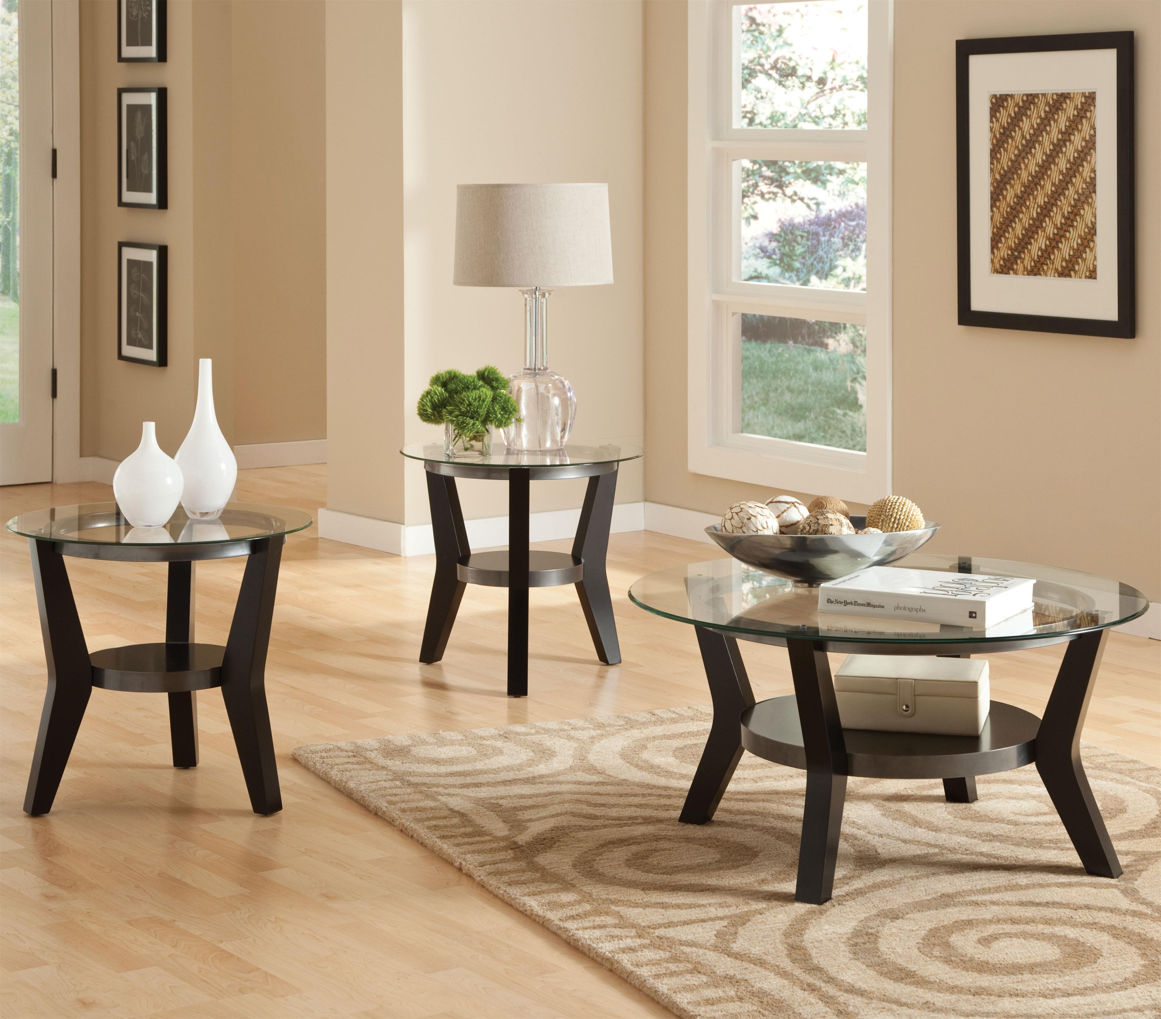 Standard Furniture Orbit 3-Pack Table Set - Item Number: 21953